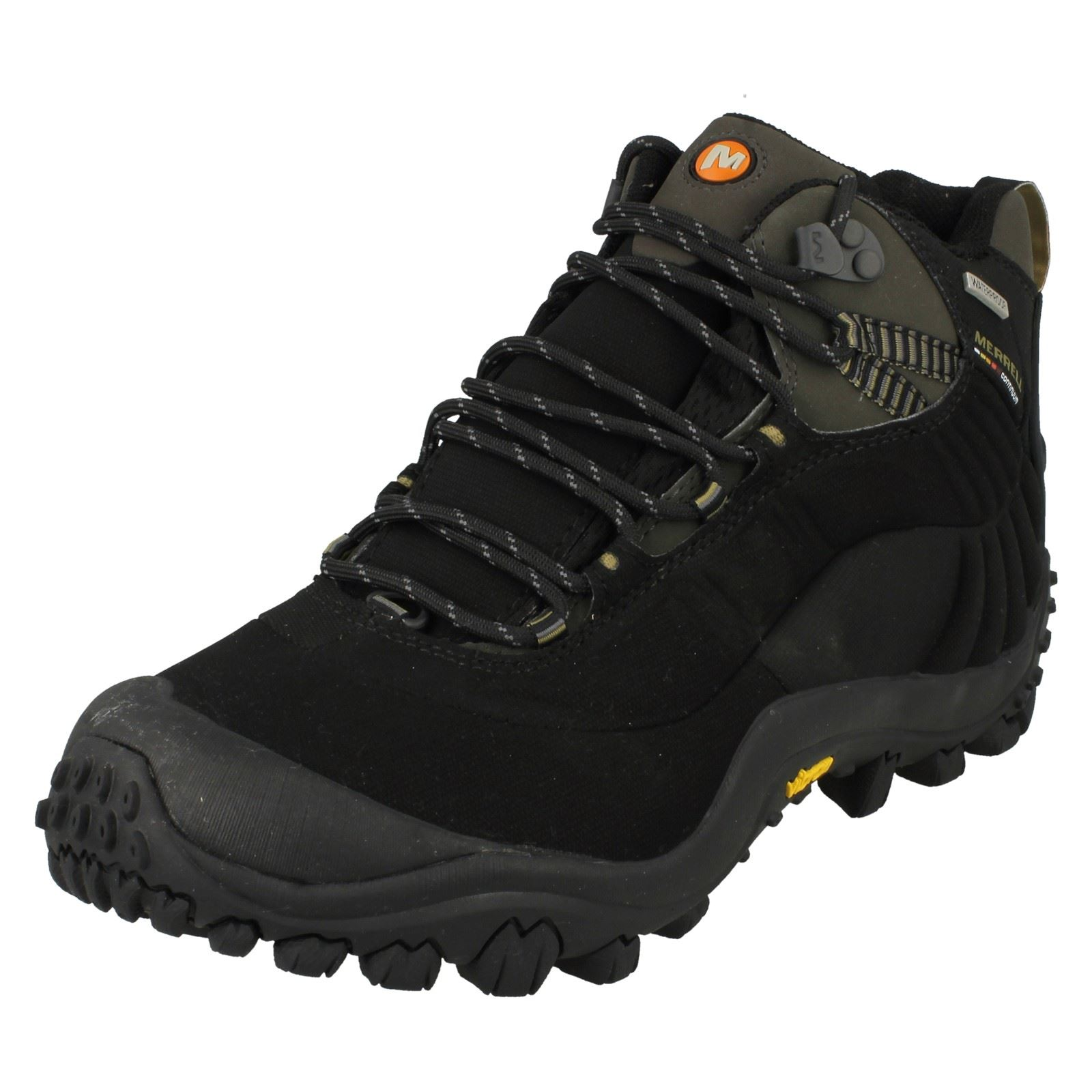 575b73ea57 Details about Mens Merrell Casual Waterproof Lace Up Walking Boots -  Chameleon