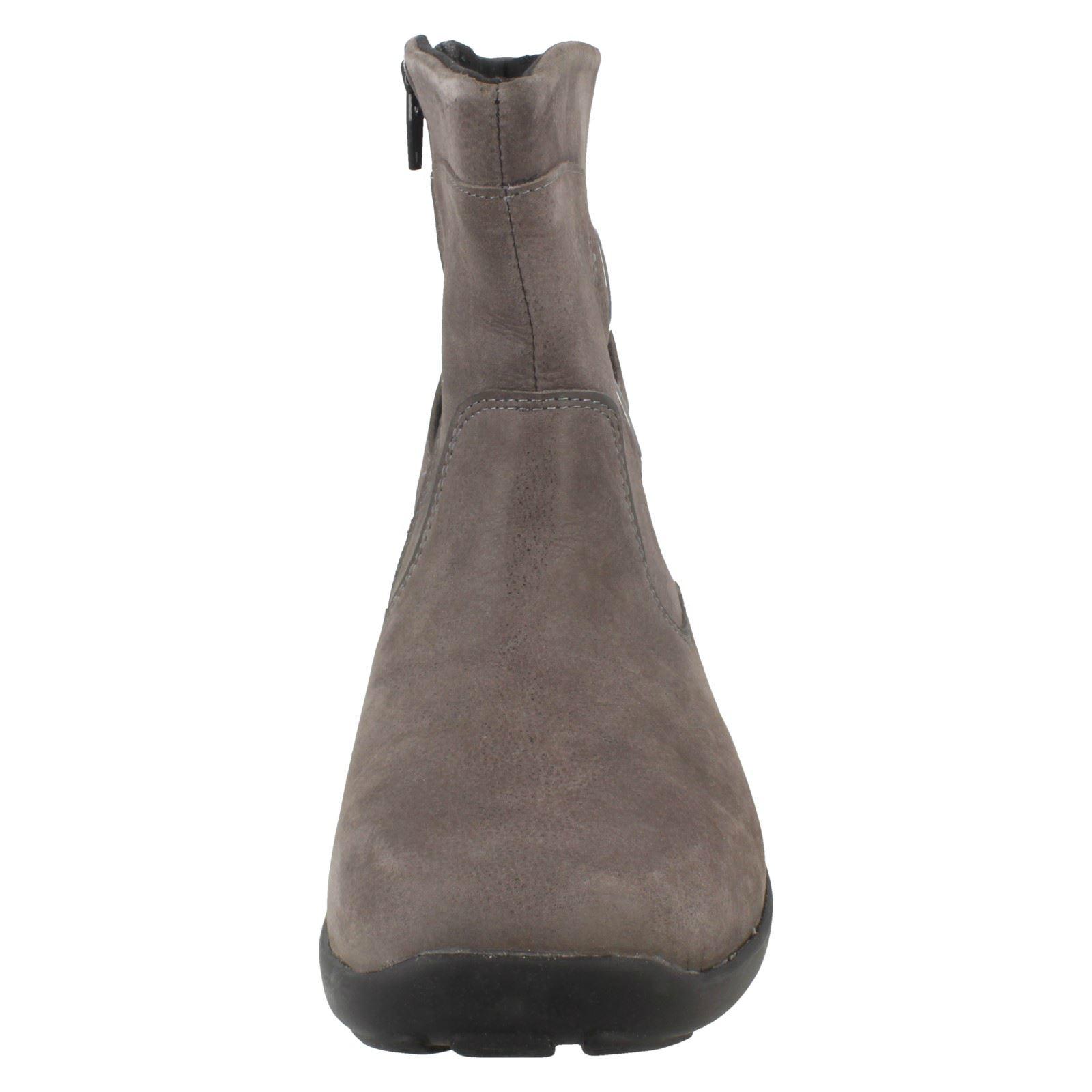 grey 78484g Ladies Easyb Smoke Ankle Grey Boots Reims WqWfwAa6H