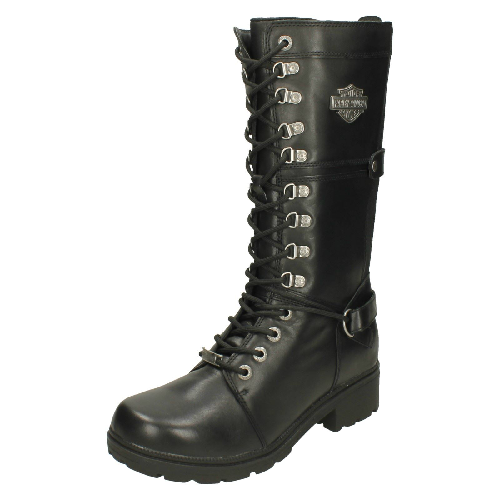Damenschuhe Damenschuhe Damenschuhe Harley Davidson Long Stiefel 'Harland D83987' e5b1eb