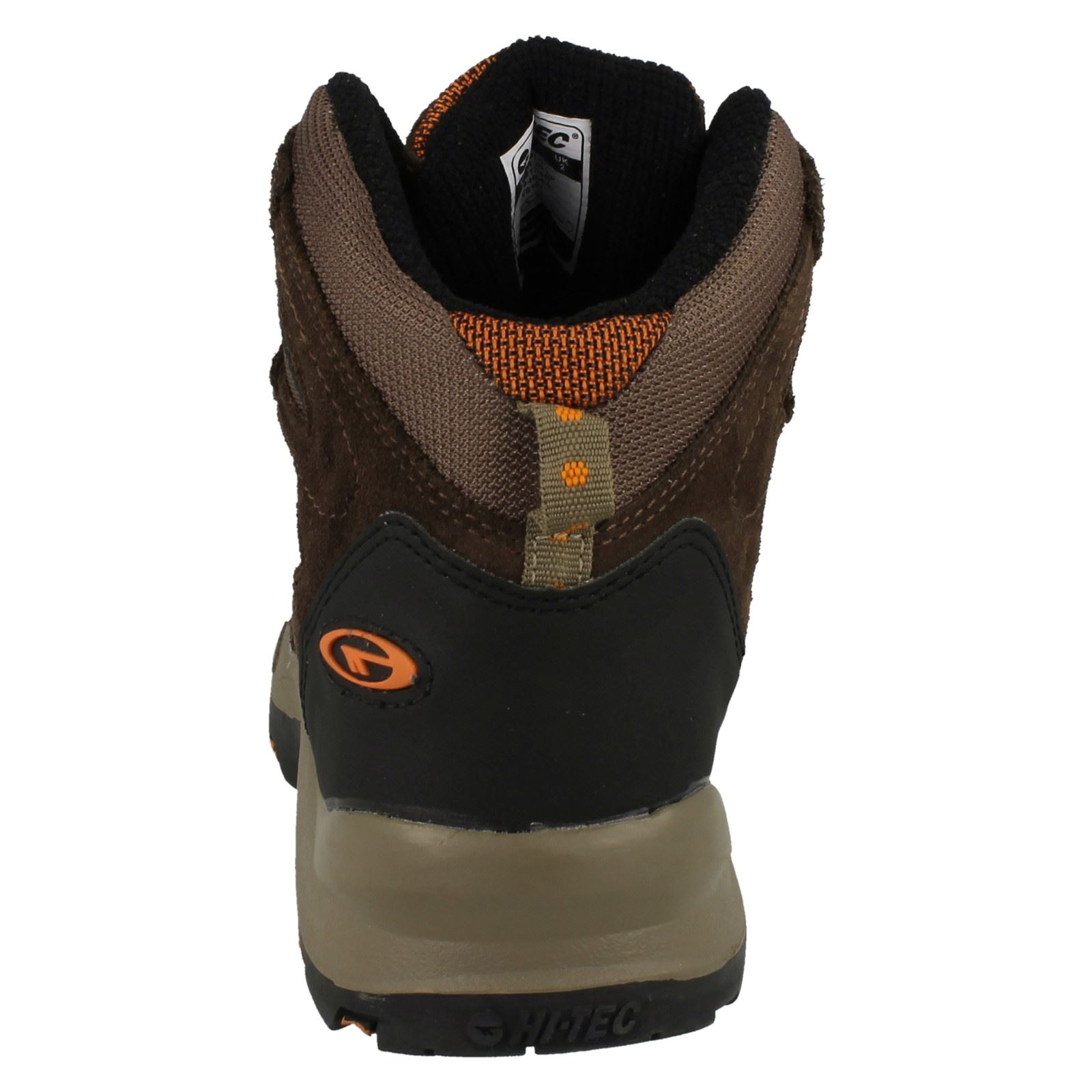 Boys-Hi-Tec-Casual-Waterproof-Lace-Up-Walking-Boots-Kruger-JR