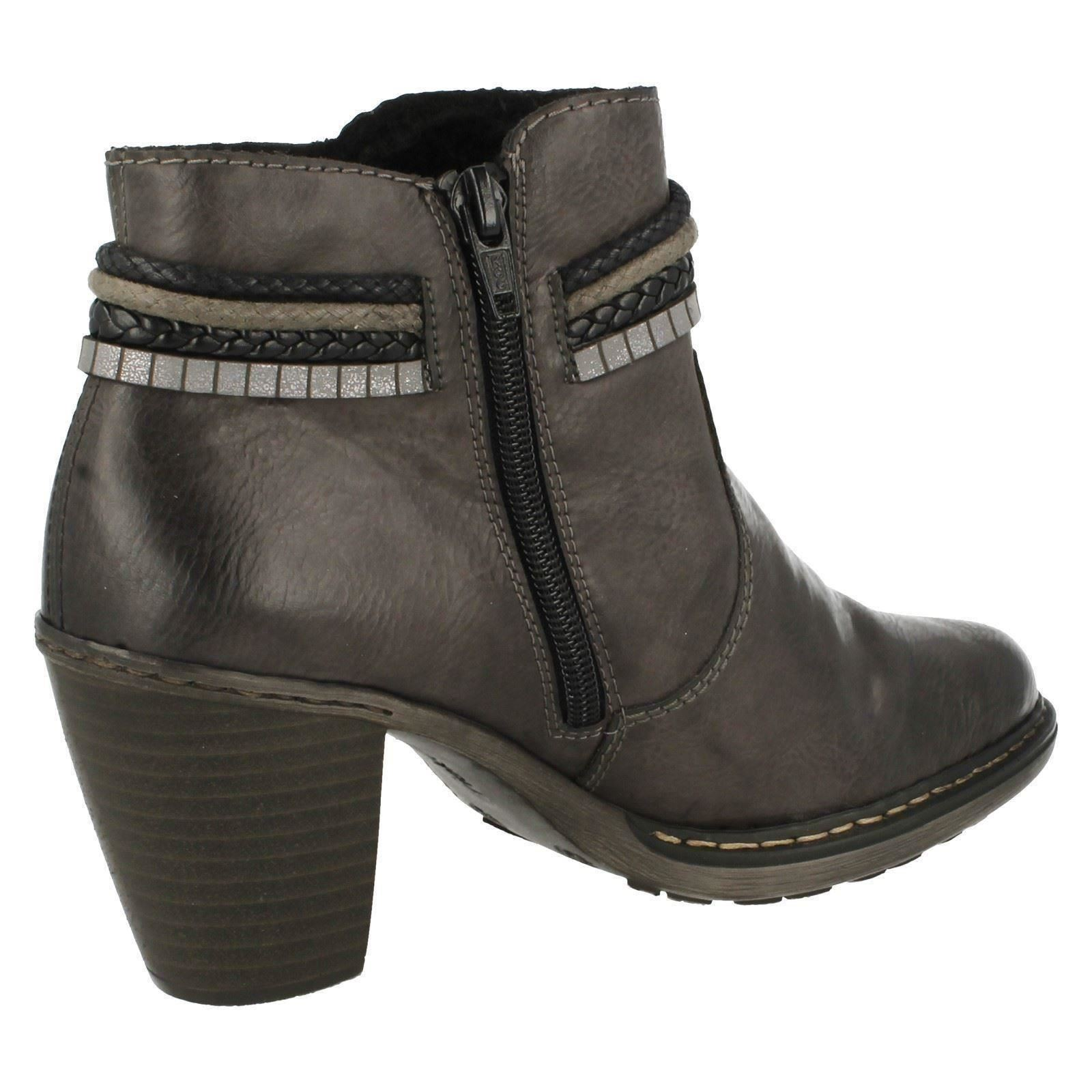 Man/Woman Ladies Rieker Ankle Boots 55298 - 55298 Boots superior Skilled manufacturing high quality product 953222