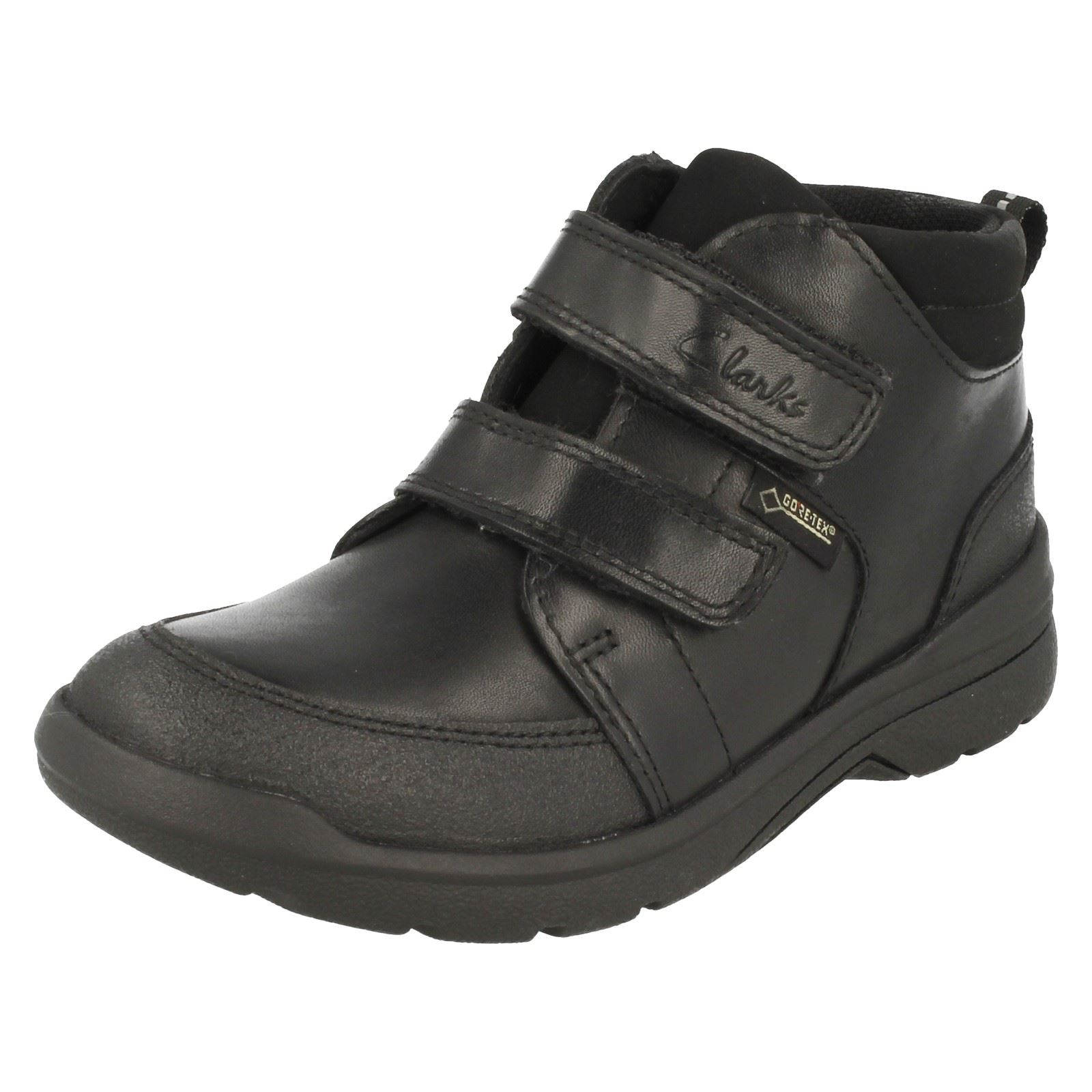 BOYS SMART BLACK ANKLE BOOTS