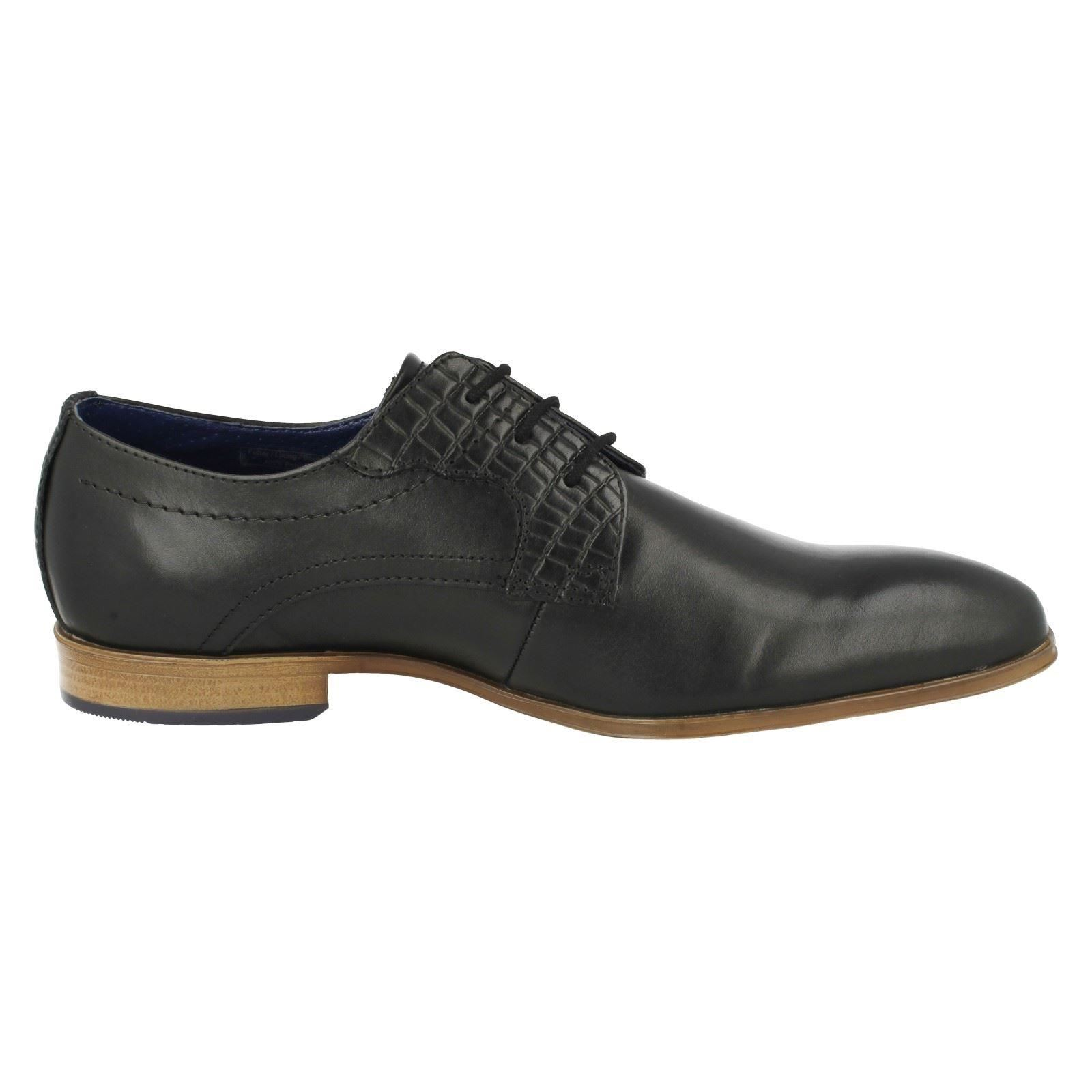 Mens Bugatti Smart Formal Shoes 311-25202