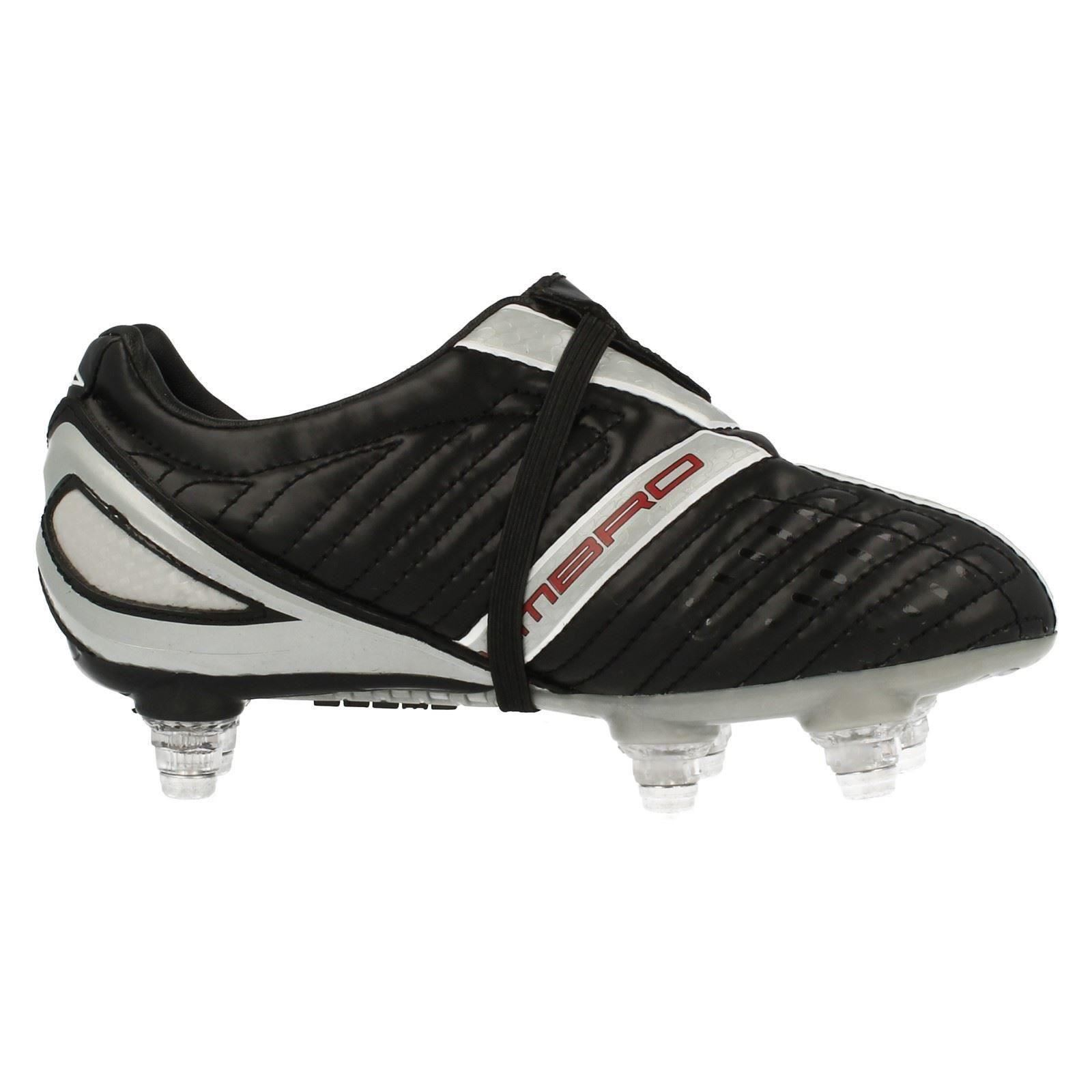 Boys Umbro Lace Up Screw In Stud Football Trainers - X-500-J SG