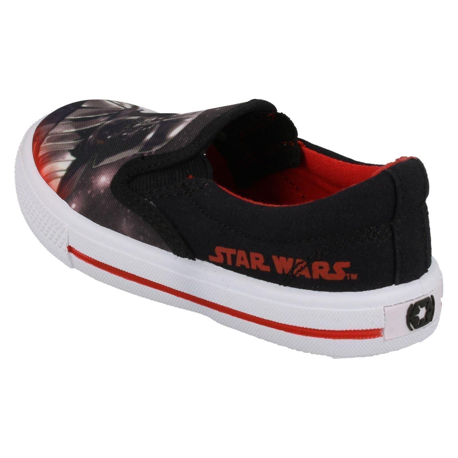 Chicos STAR WARS resbalón en el zapato de lona Fairview