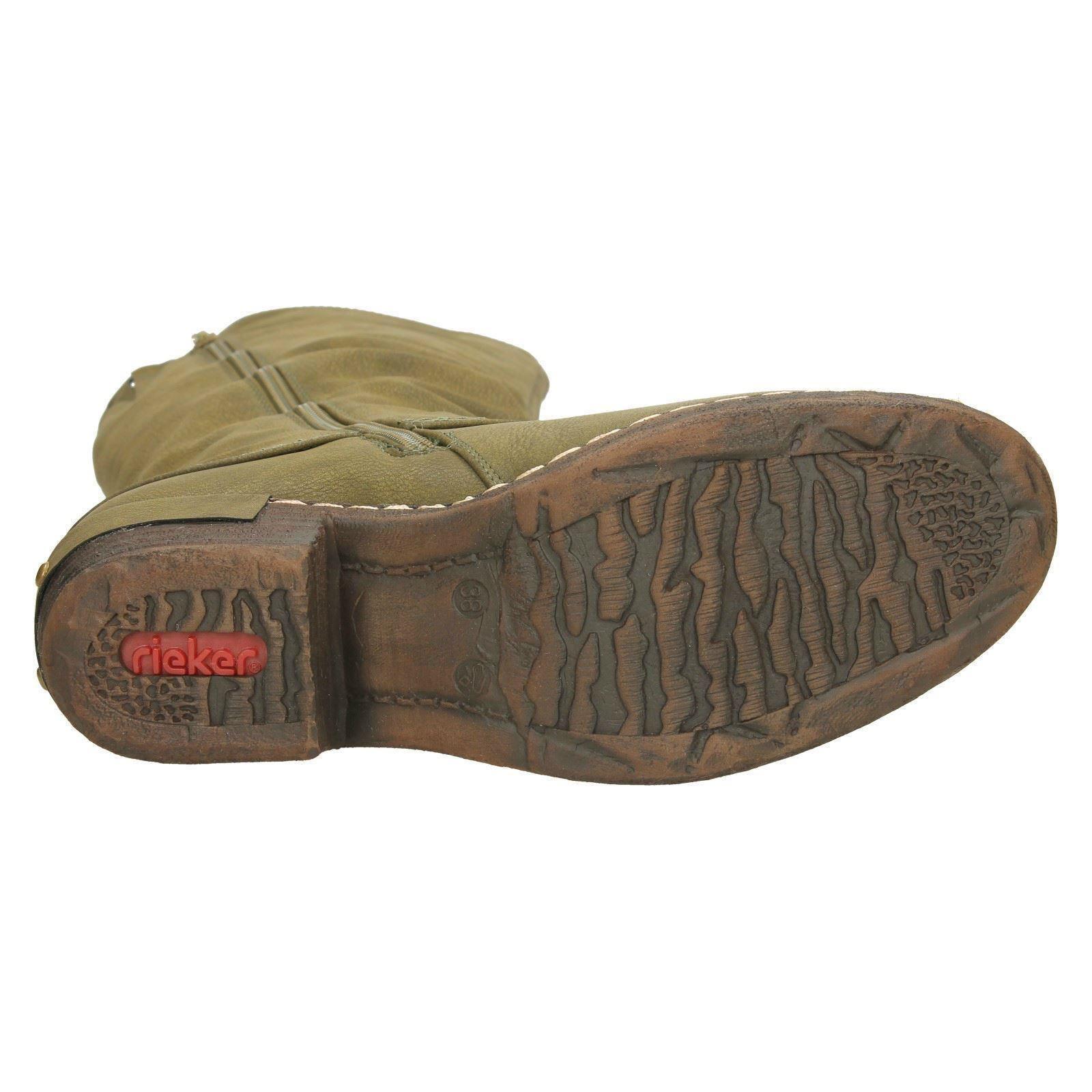 Rieker botas Hasta La Rodilla Casual Casual Rodilla de Damas 93655 c82d1c