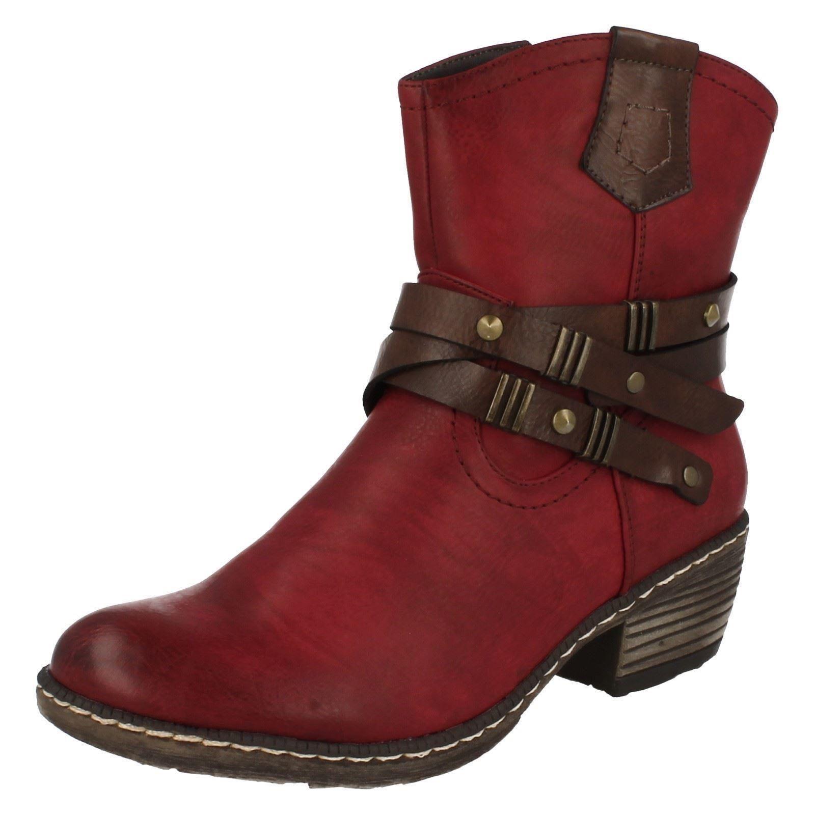 rieker fleece lined ankle boots k1472