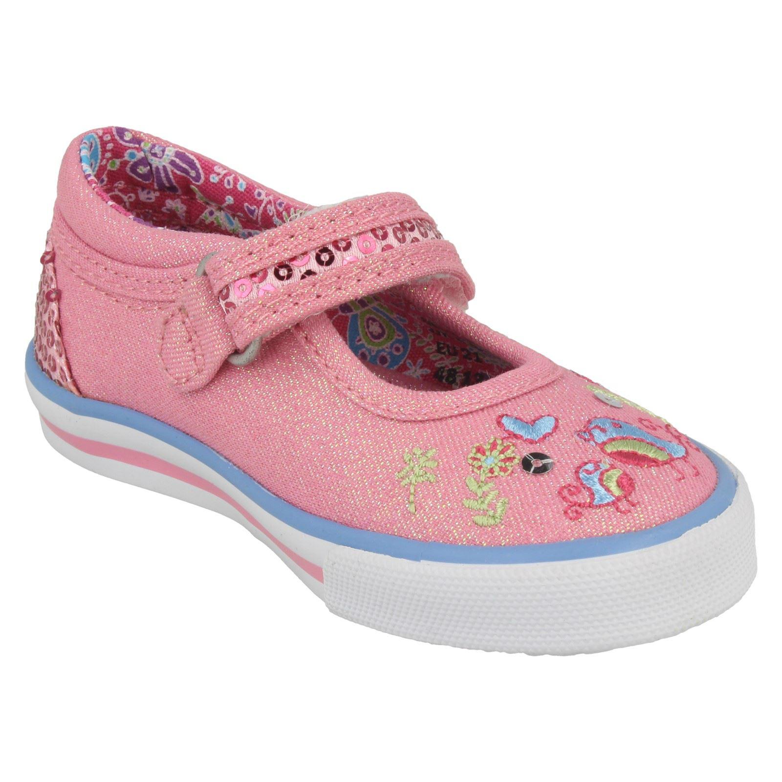 1009c89300cc9 Enfant Fille Startrite Babies Velcro Paillettes Brillant Chaussures ...