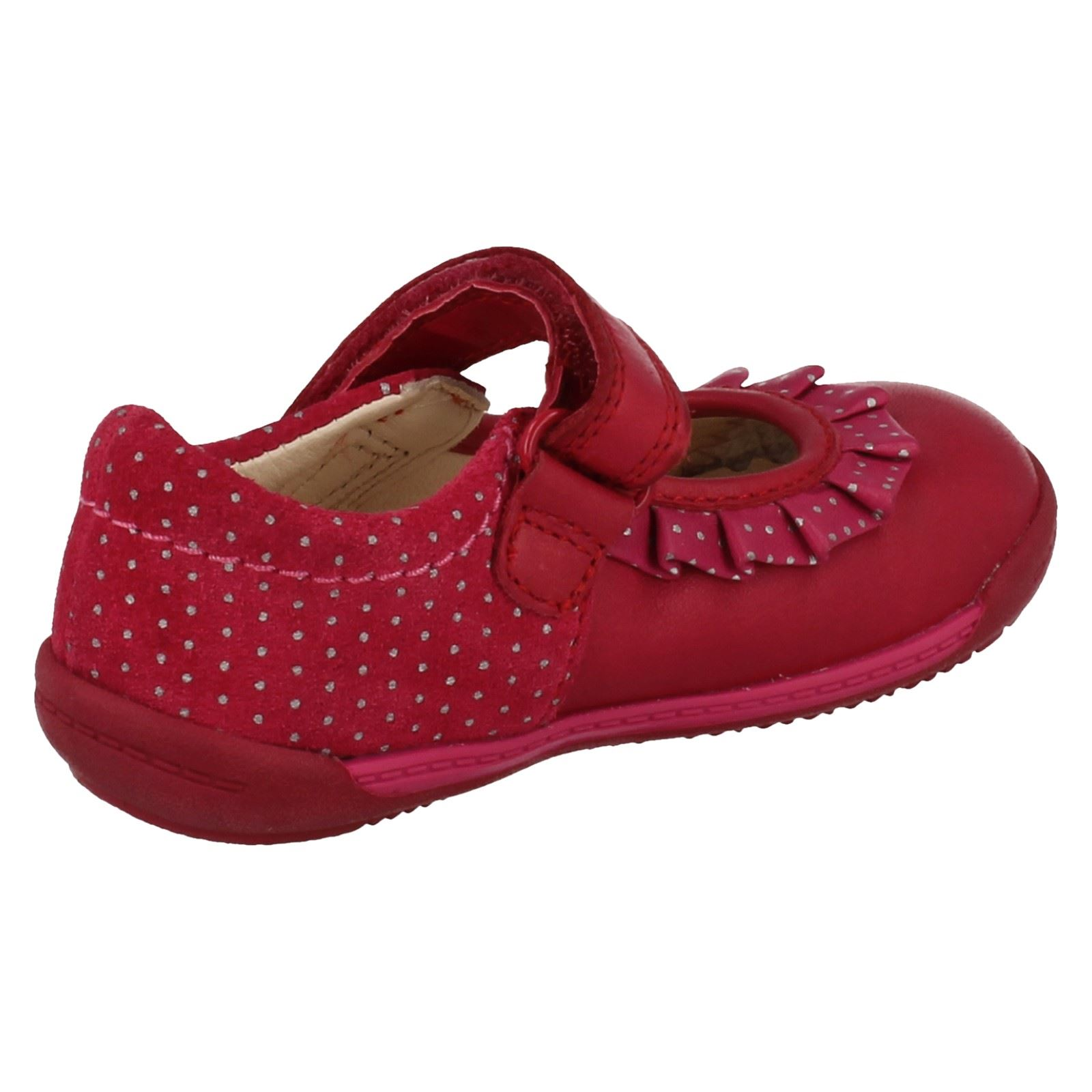 Girls Clarks First Shoes 'Softly Stef'