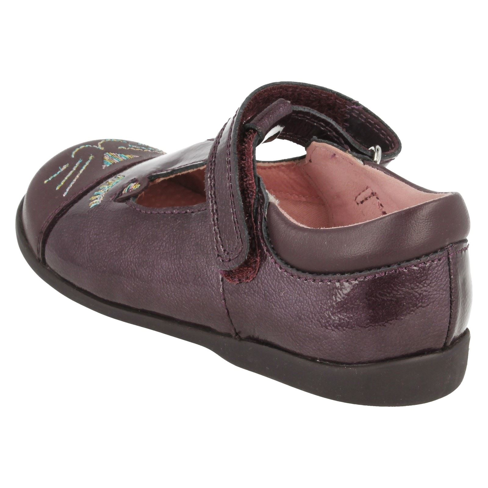 Girls Startrite T Bar School Shoes Cat's Whiskers