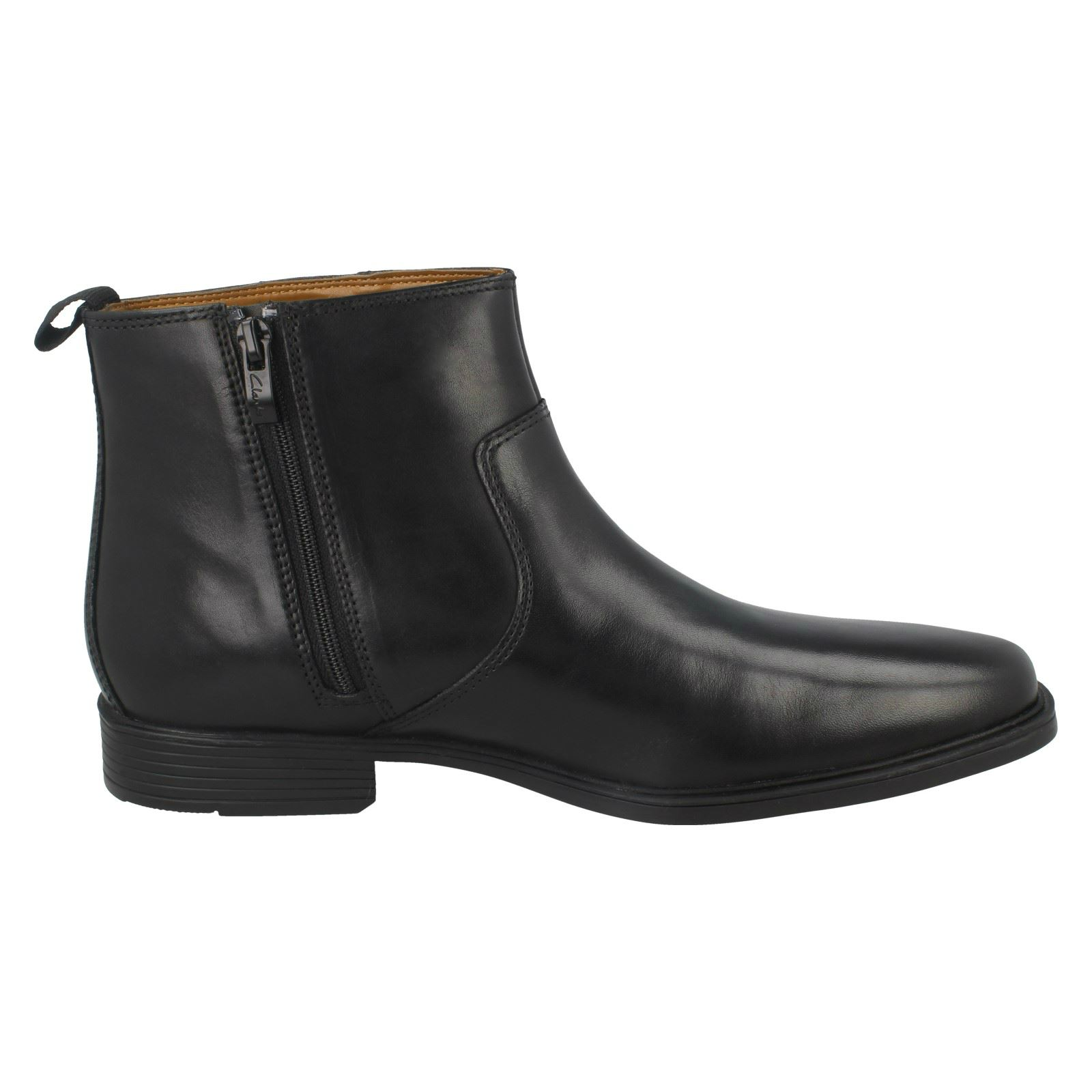 Mens-Clarks-Ankle-Boots-039-Tilden-Zip-039 thumbnail 7