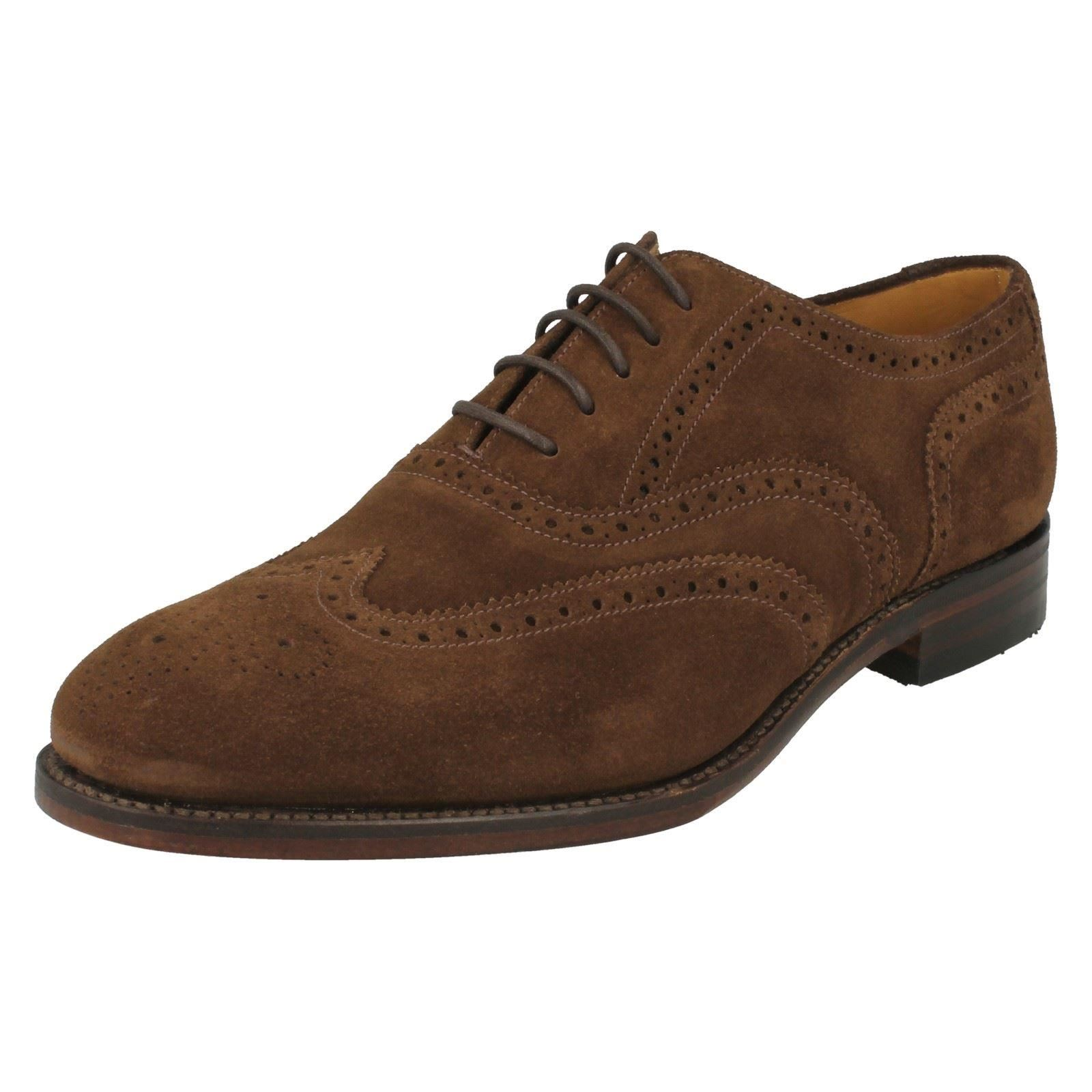 mens loake formal lace up brogue shoes 758ds2 ebay