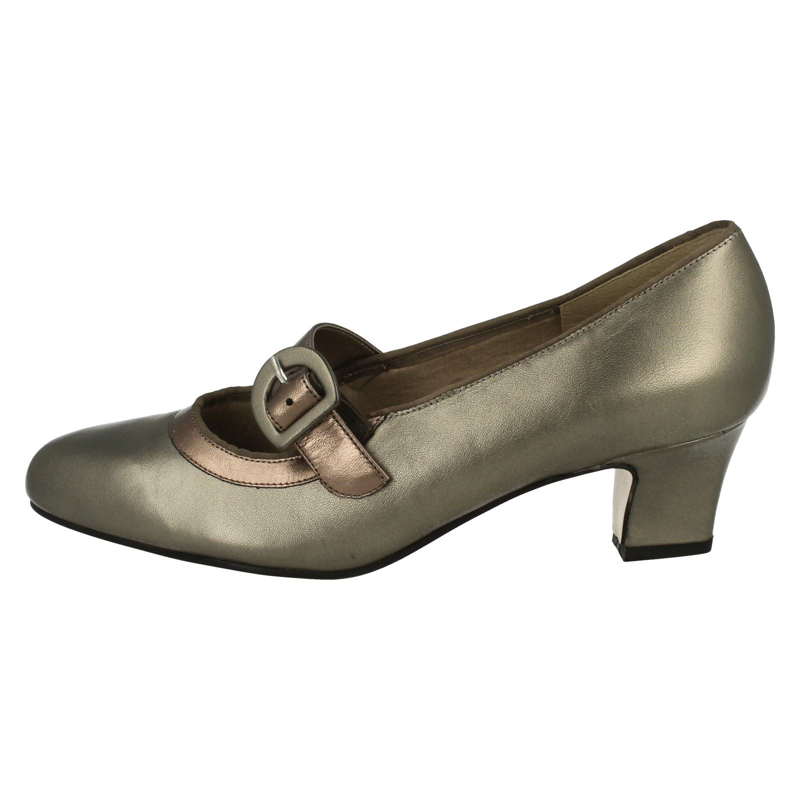 Ladies Equity Equity Equity Wide Fitting Court shoes Maxine 533943