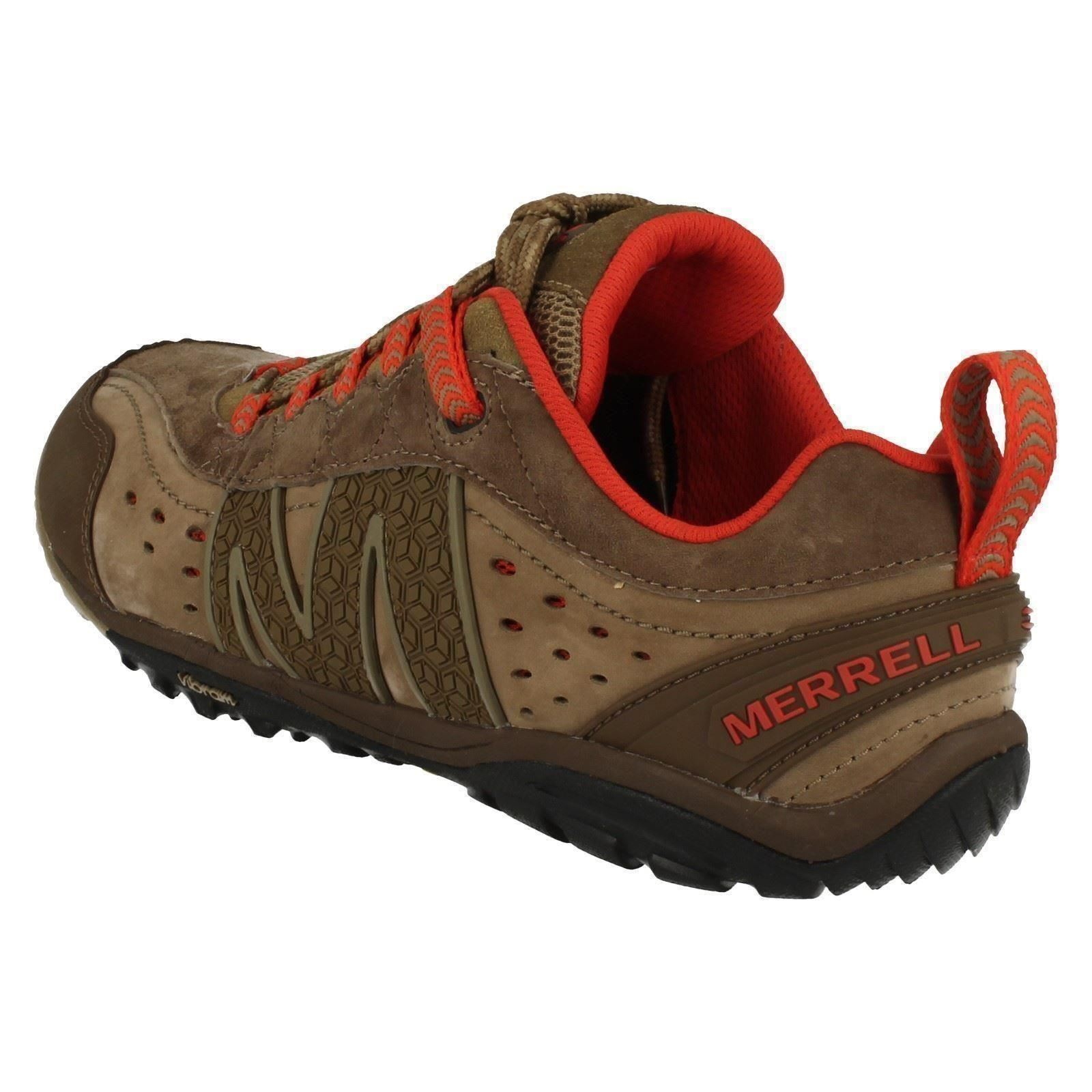 Mens Merrell Lace Up Walking Shoes Venture Glove J68813
