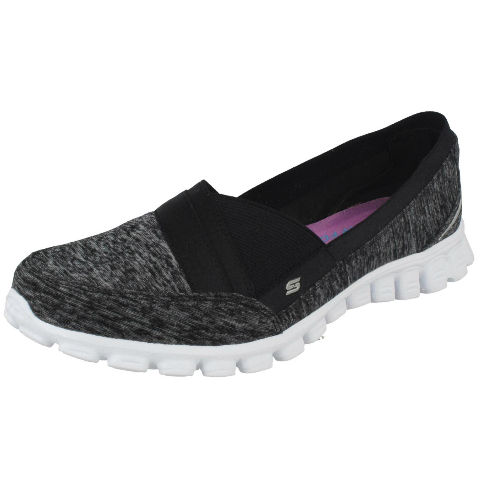 Details about Skechers Ez Flex 2 Stretch Weave Womens Casual Shoes ShopShoesAU