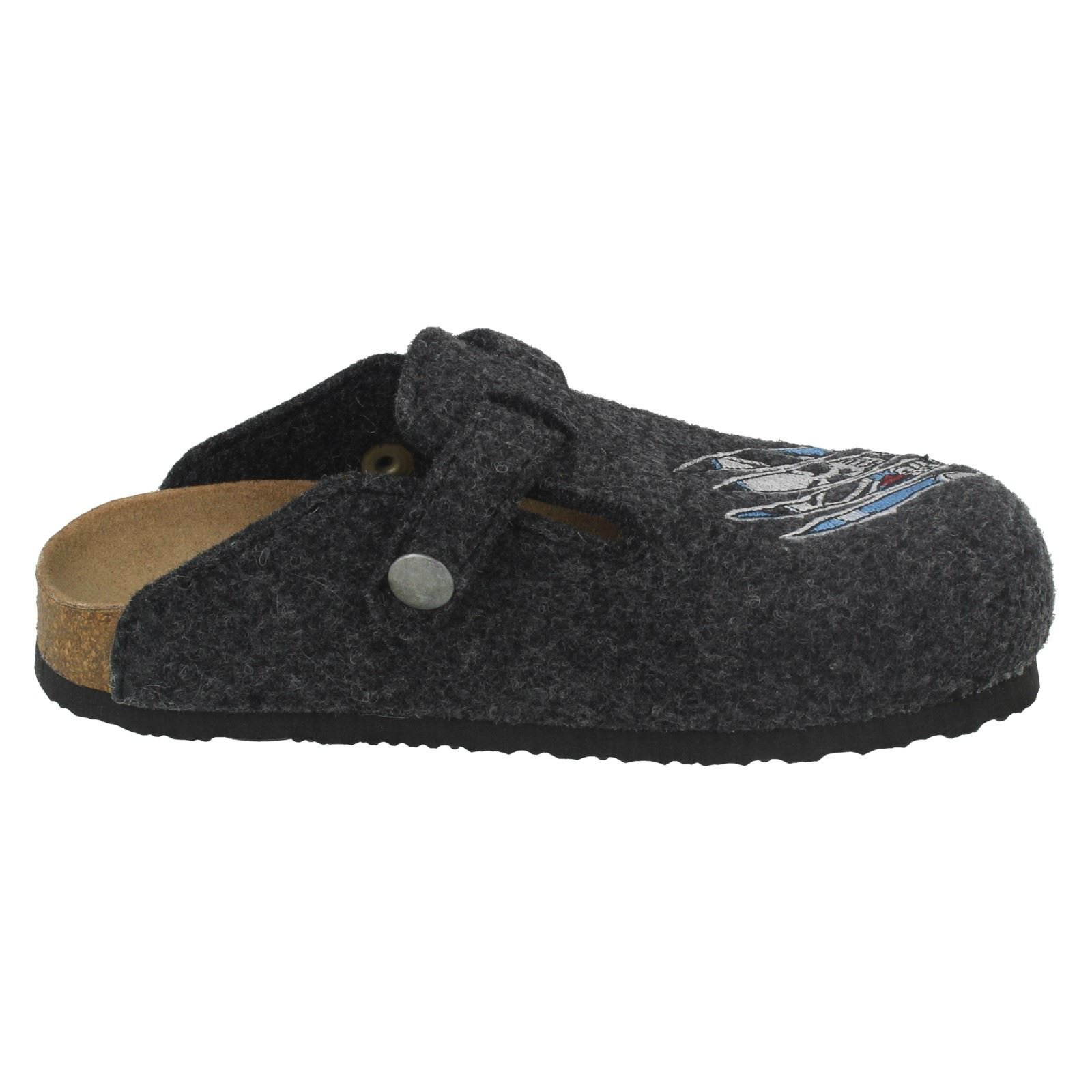 Dr Scholl Boys Casual Mules - Dakota Jr Skull
