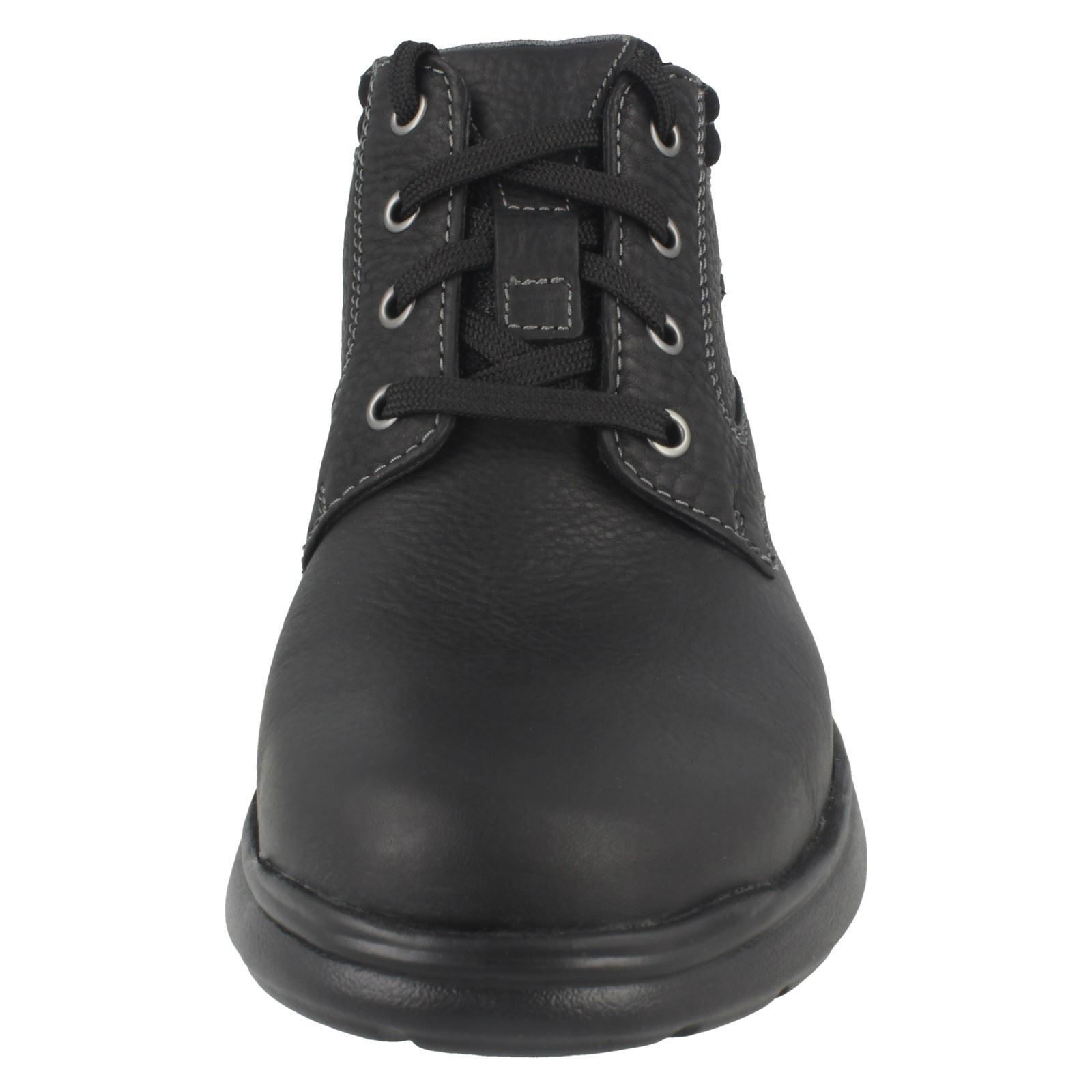 Mens Clarks Casual Ankle Boots Cotrell Rise