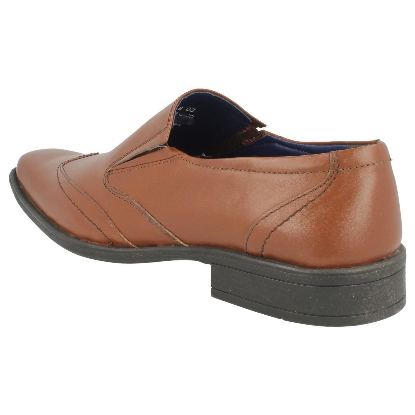 Herren Bruno donnari Leather STYLISCH Slip On Schuhe