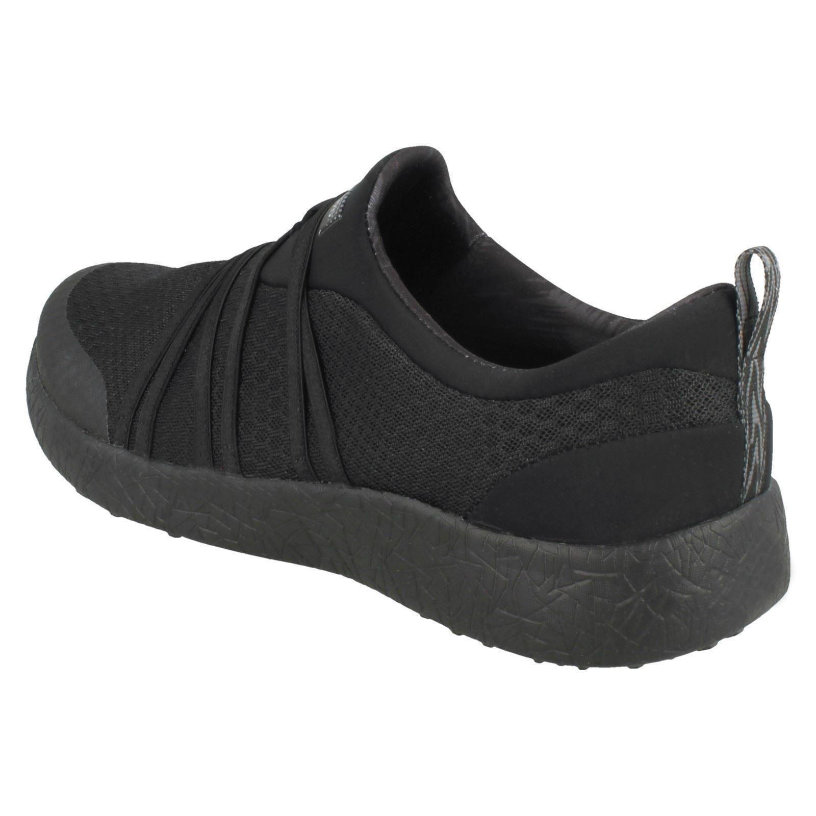 Daring Skechers Textile Very Detail 12735 Black Med Sneakers Multi Ladies Strap dpRxU8q4w