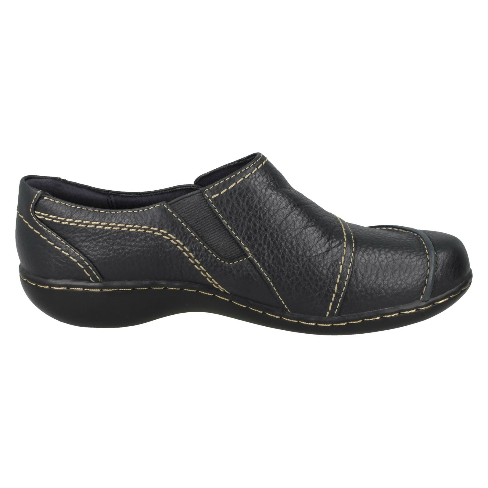 Ladies Clarks Slip On Casual Shoes 'Embrace Charm'