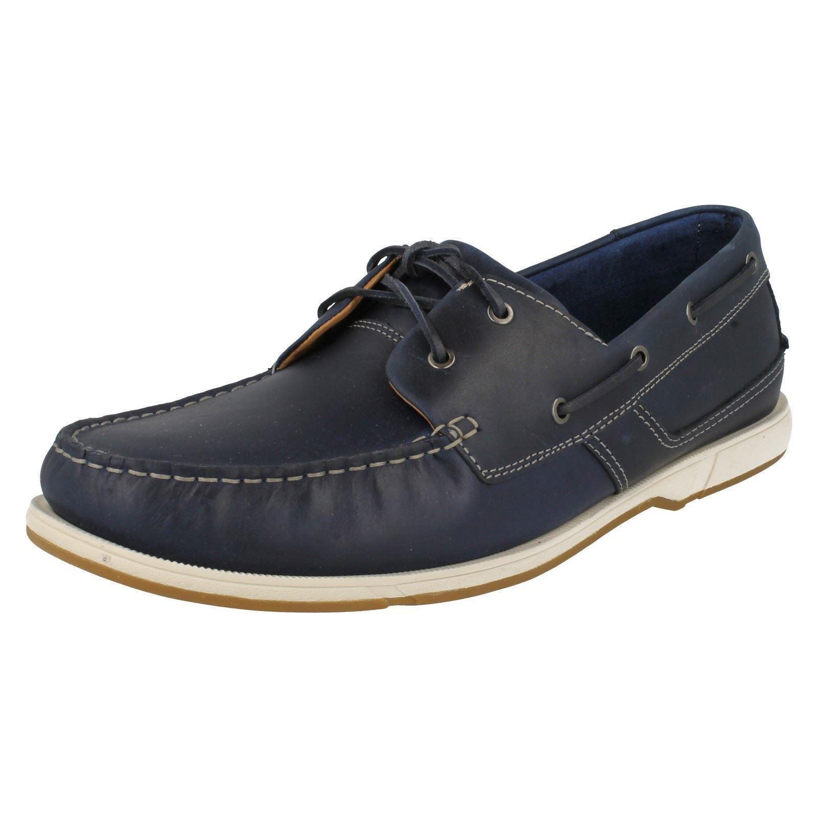 Uomo Smart/Casual Clarks Deck Style Smart/Casual Uomo Schuhes 'Fulmen Row' 800ea8