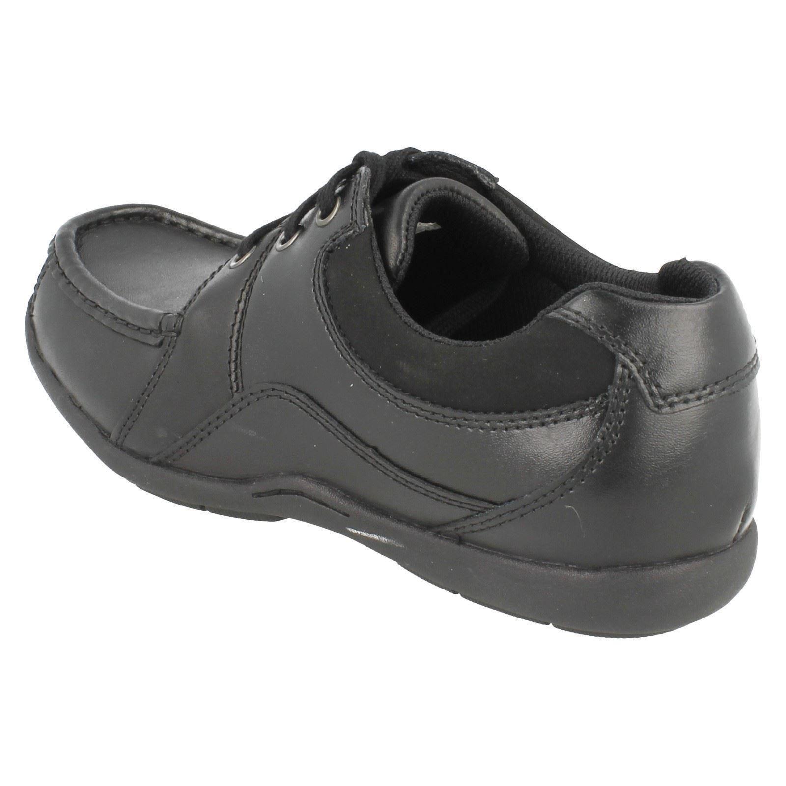 Toe Penwith Shoes niños de Squared Clarks School Black Pañuelo de pXa8Zw1Z