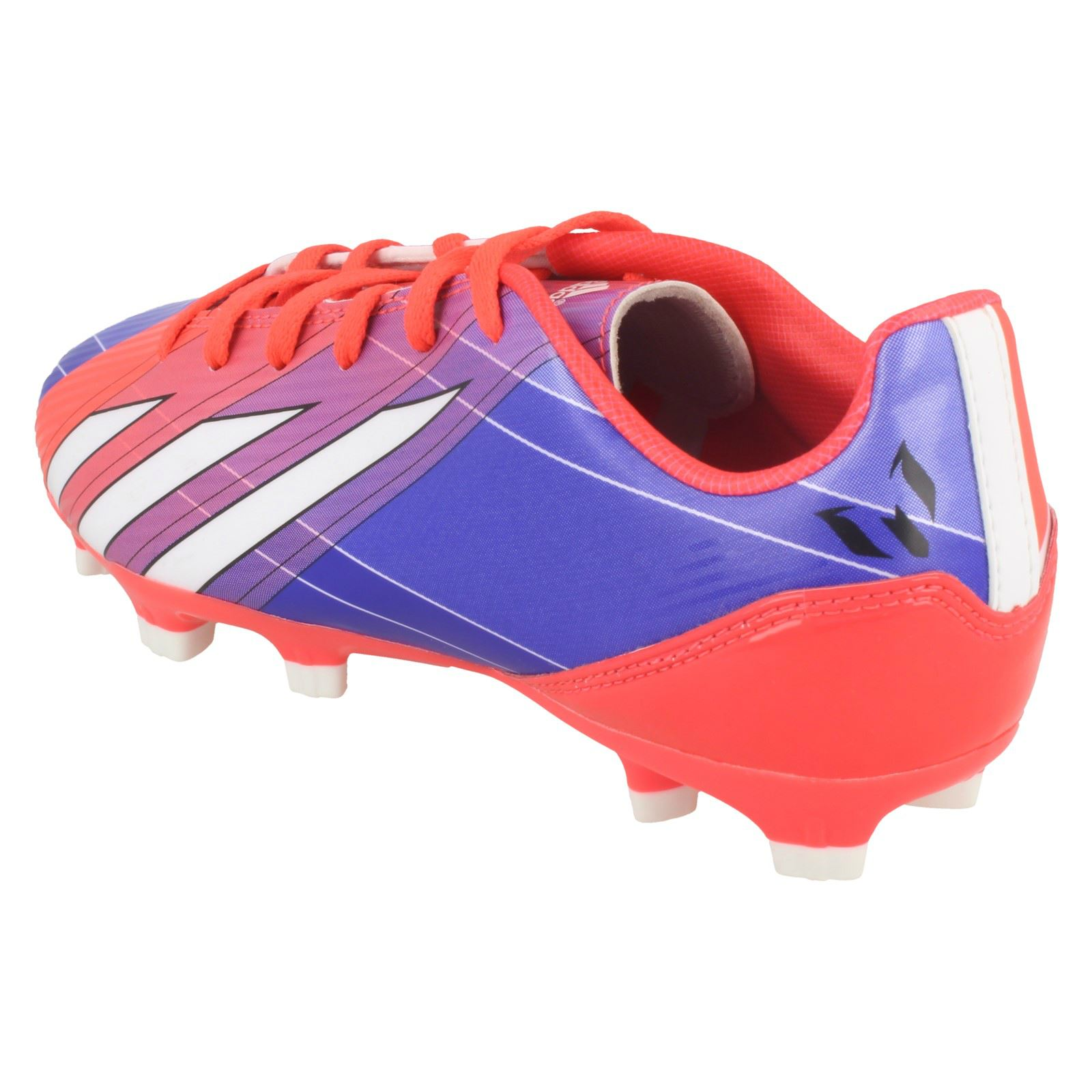 ... Football BOOTS Soccer Shoes Messi UK 9 G95011 9. About this product.  Picture 1 of 10  Picture 2 of 10  Picture 3 of 10  Picture 4 of 10 3dd7c070a8694