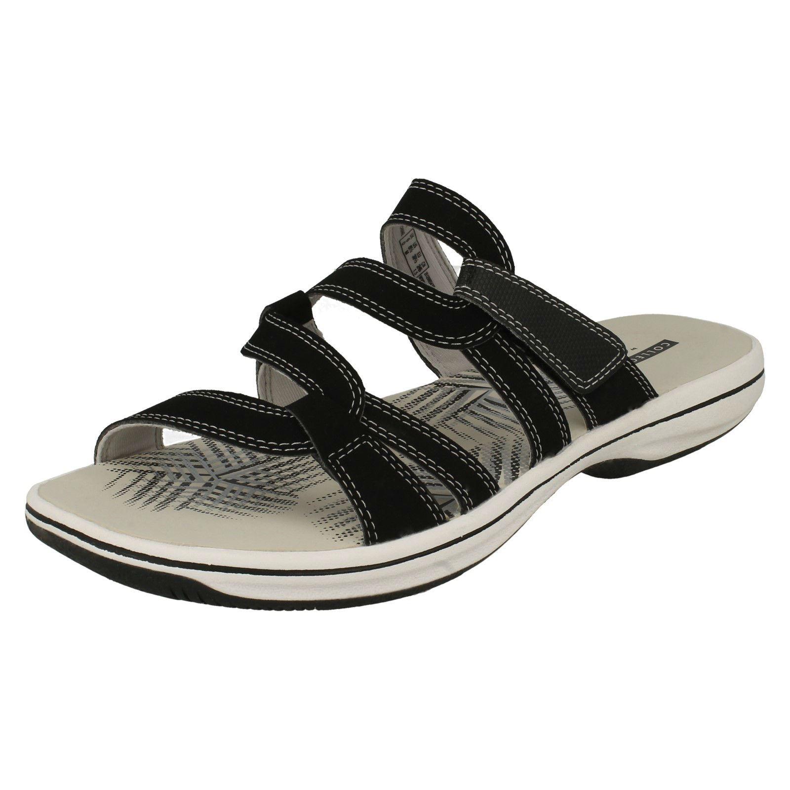 eebb695499fa79 Damen Clarks Sportlich Pantoffeln Sandalen Slipper - Brinkley Lonna ...