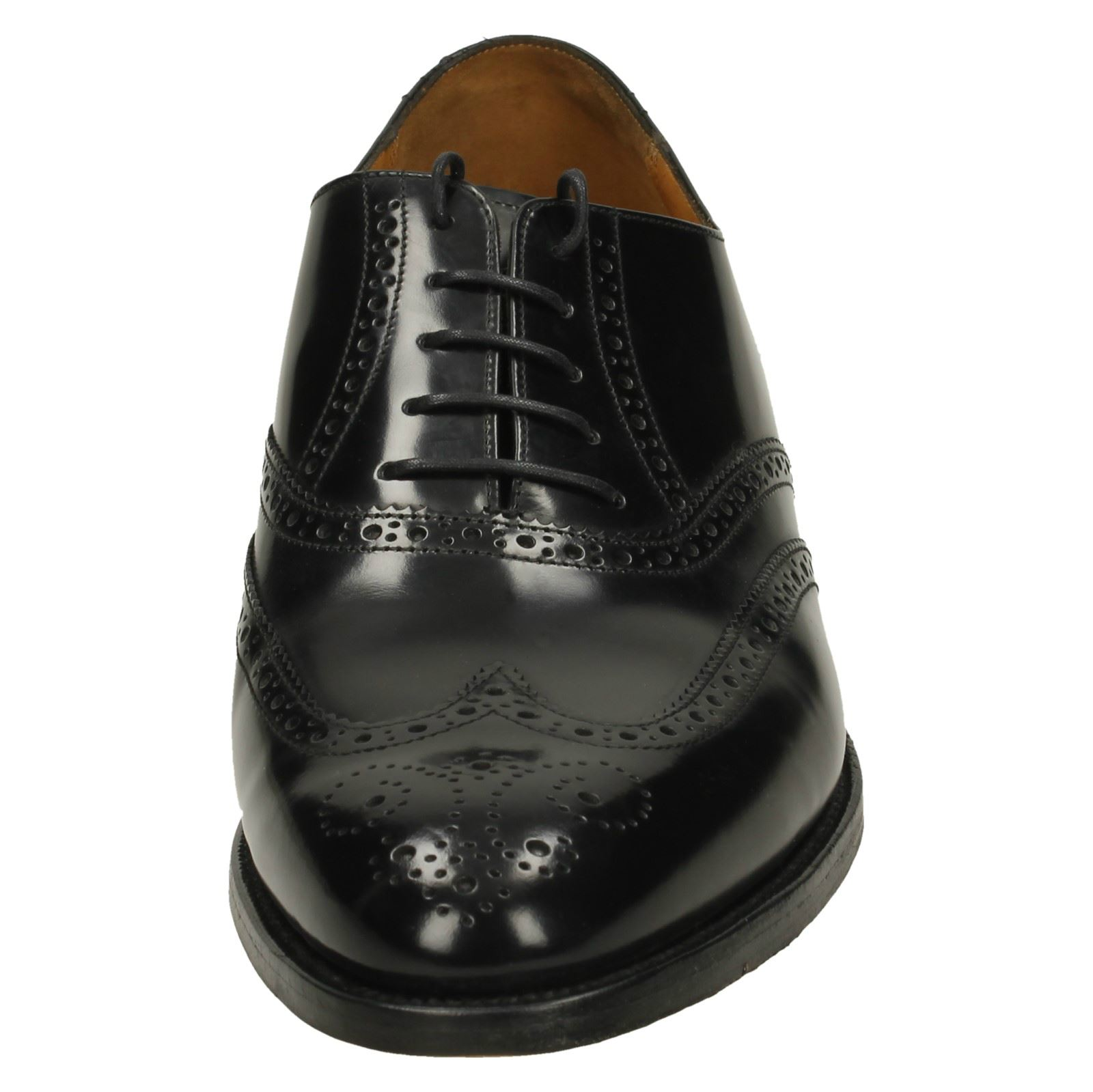 Barker Mens Brogue Style Shoes - Albert