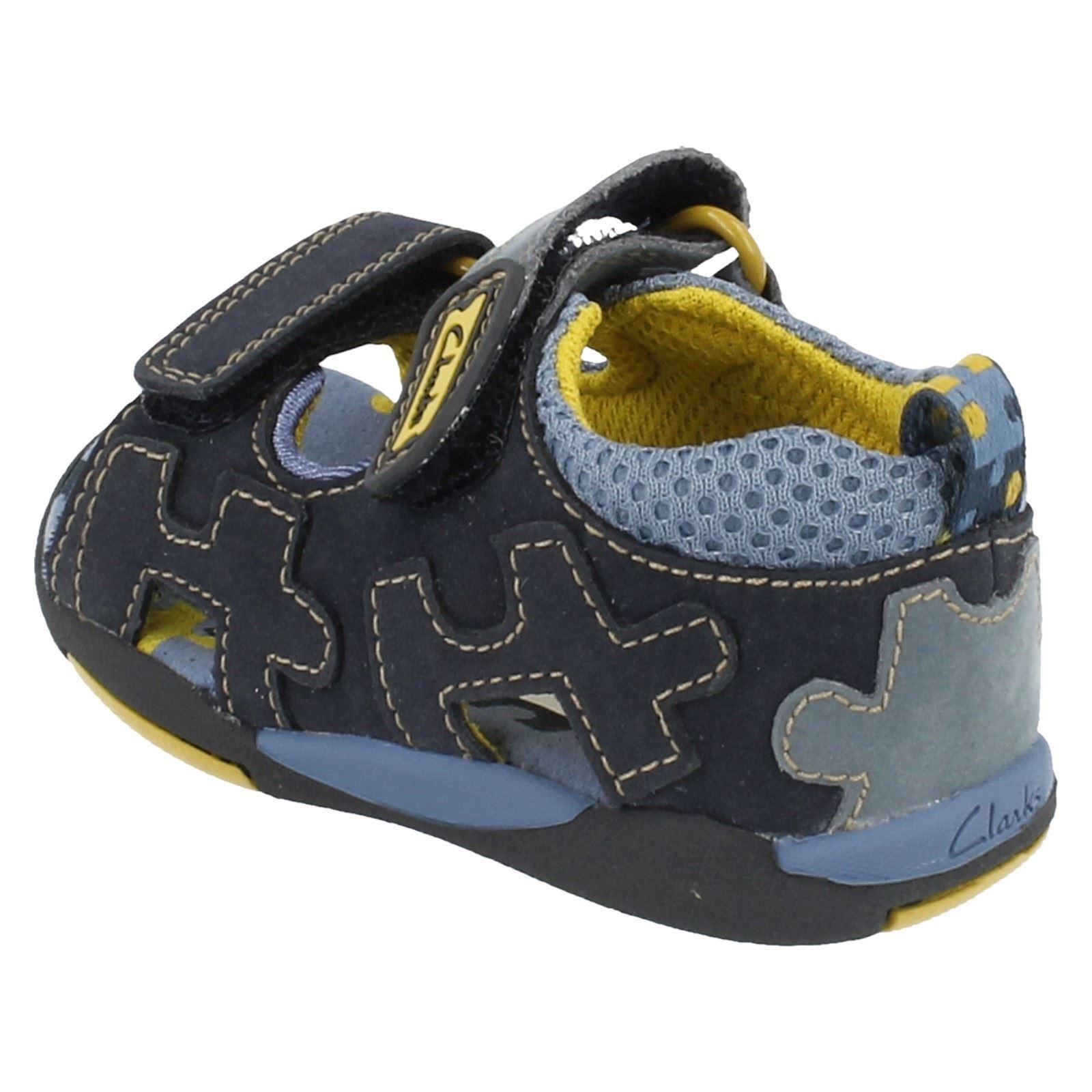 Clarks marino Puzzle azul azul sandalias Dune Niños aTx8ndd