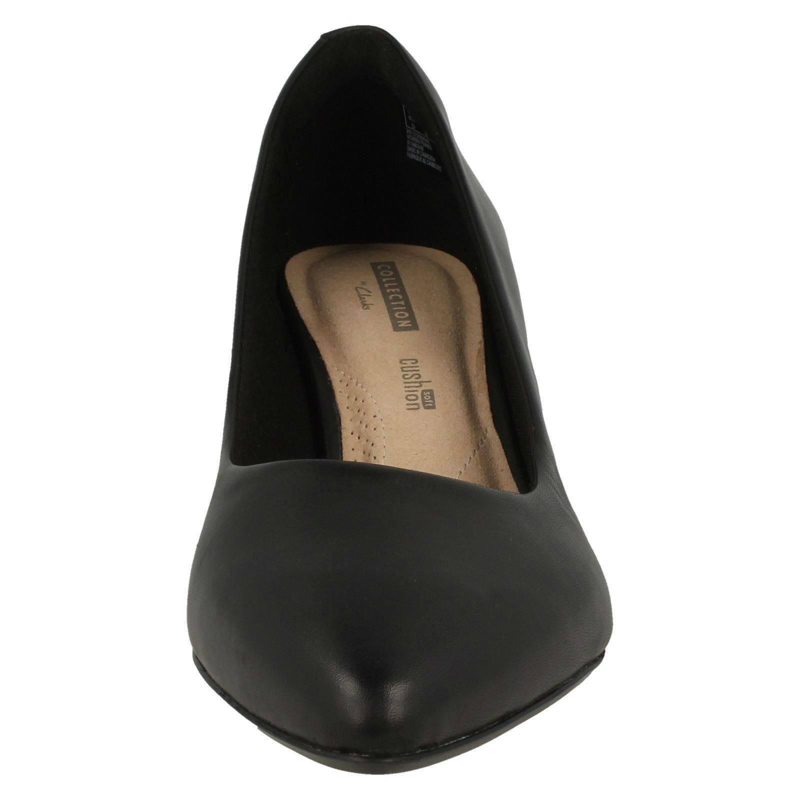 Womens Clarks Pointed Toe Court Court Court shoes 'Linvale Jerica' e07389