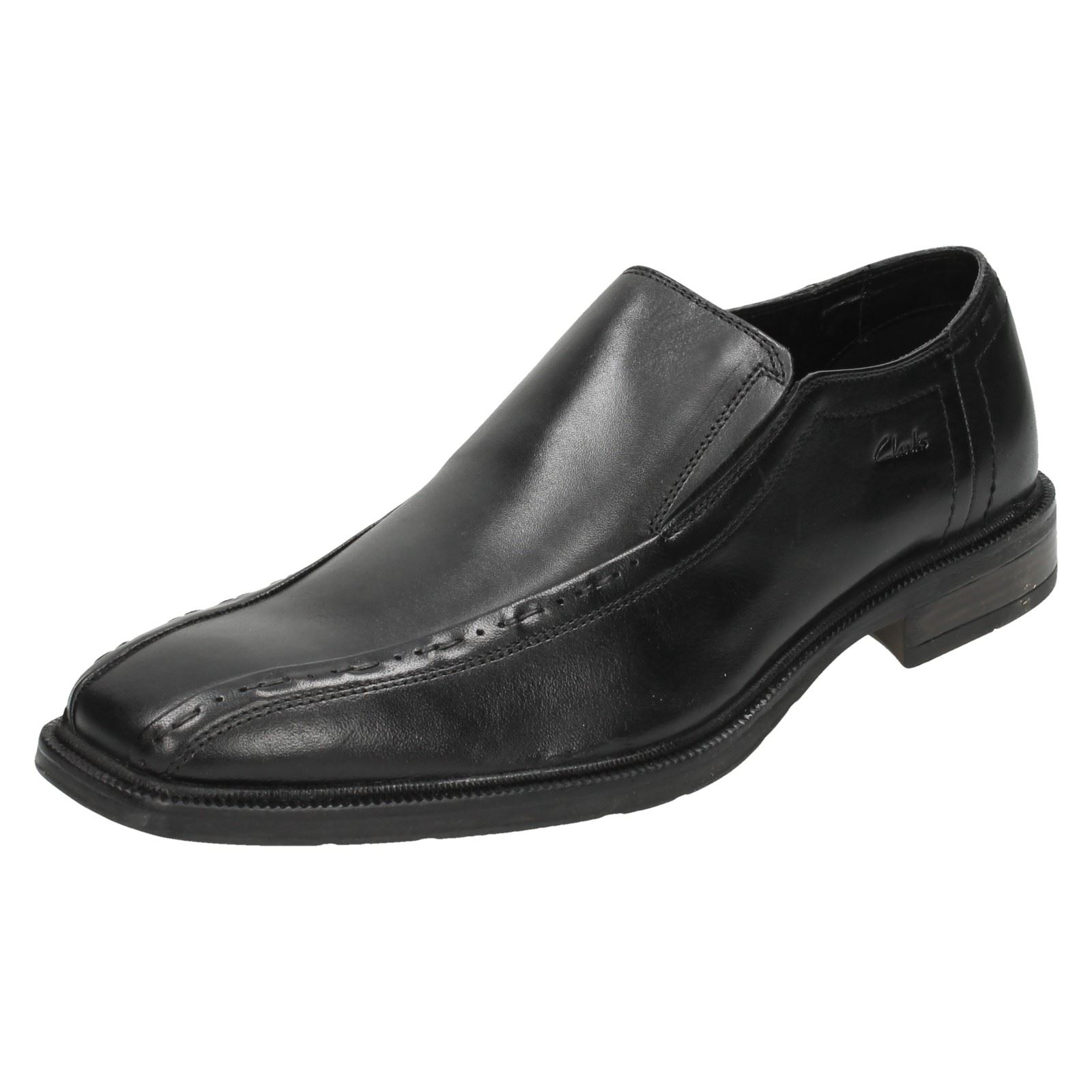 Uomo Slip Clarks Belz Out Formal Slip Uomo On Schuhes 931005
