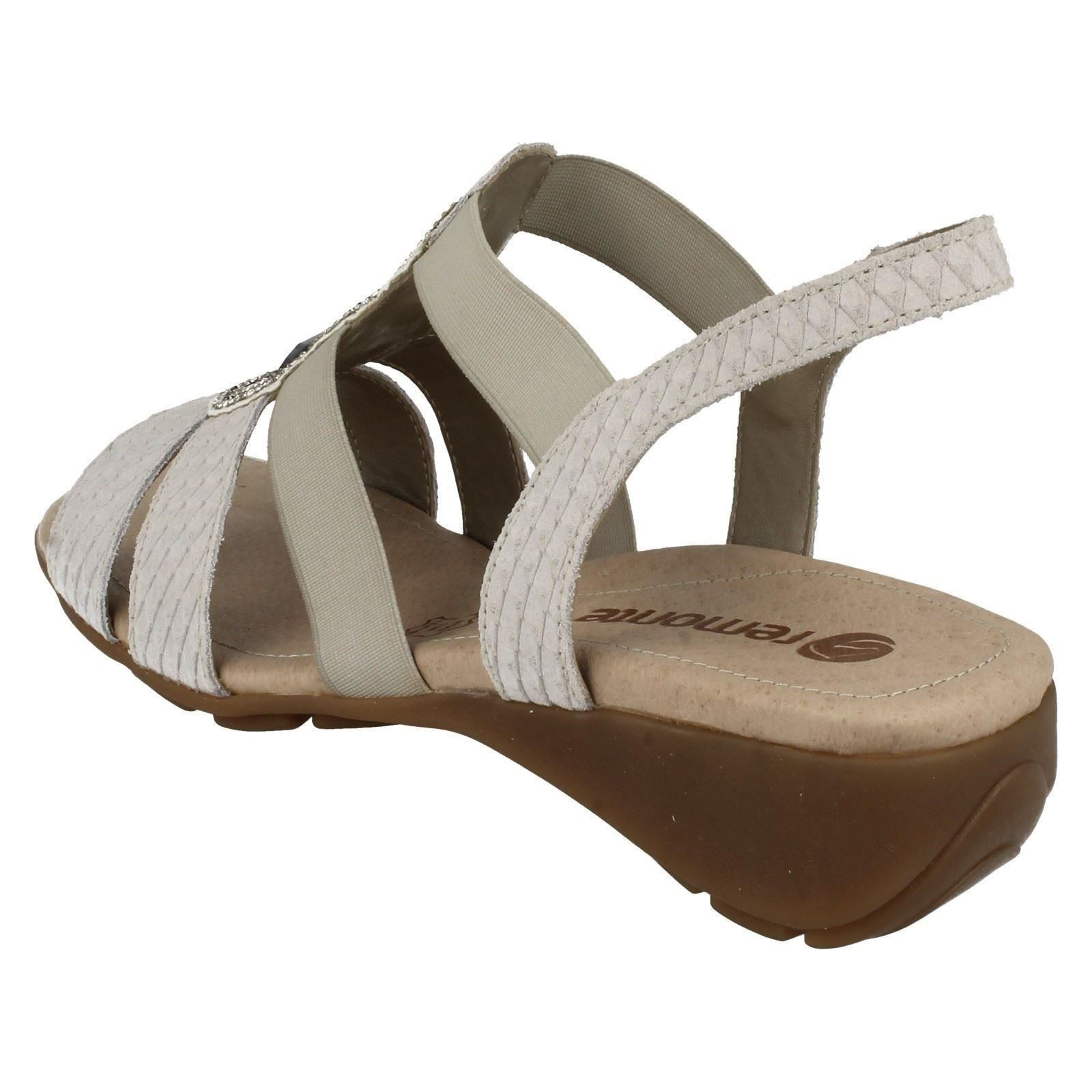 Ladies Remonte Slip Slip Slip On Sparkle Sandals R5248 505ff3