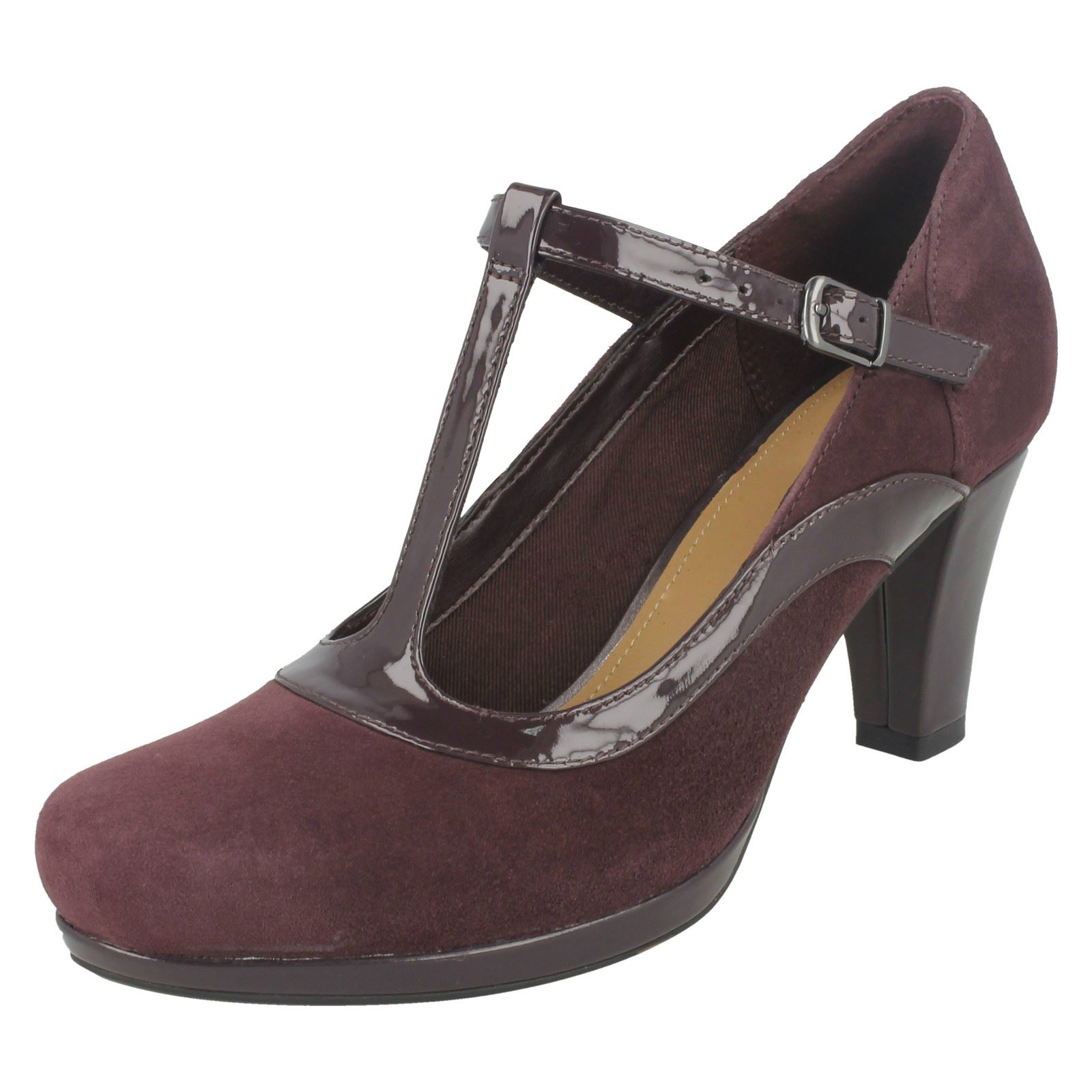 Descuento barato Ladies Clarks Court Heel Shoes Chorus Pitch