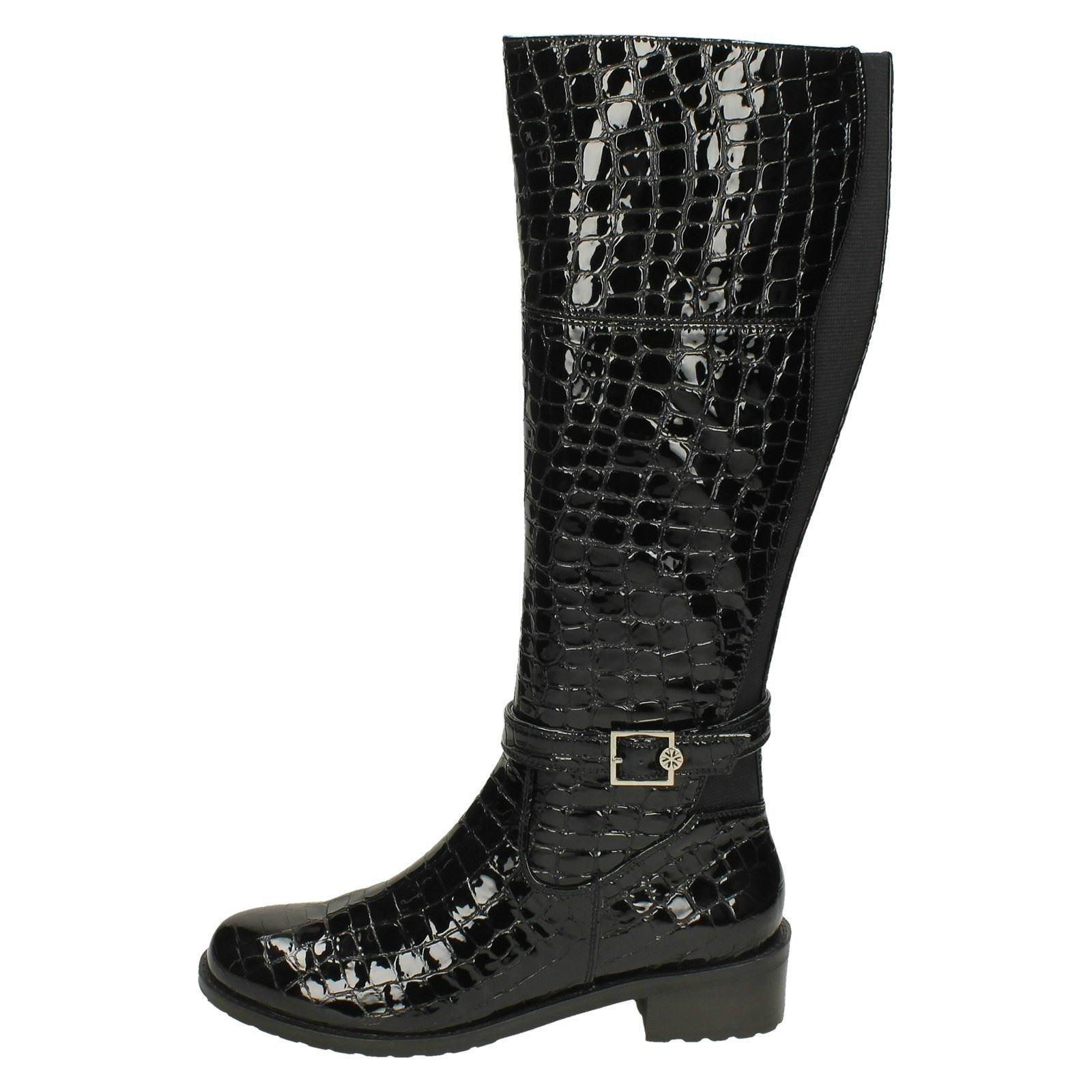 Black Dal Boots High Ladies Van Knee shelby 5BFFYwa
