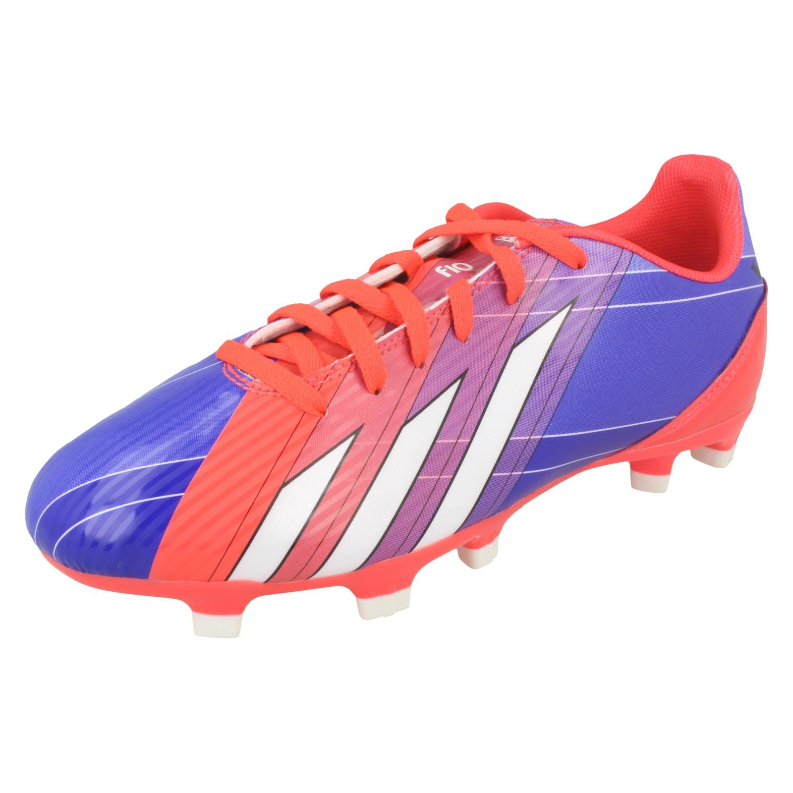 0feb43e338c79 Details about Boys Adidas Lionel Messi Football Boots 'F10 TRX FG J'