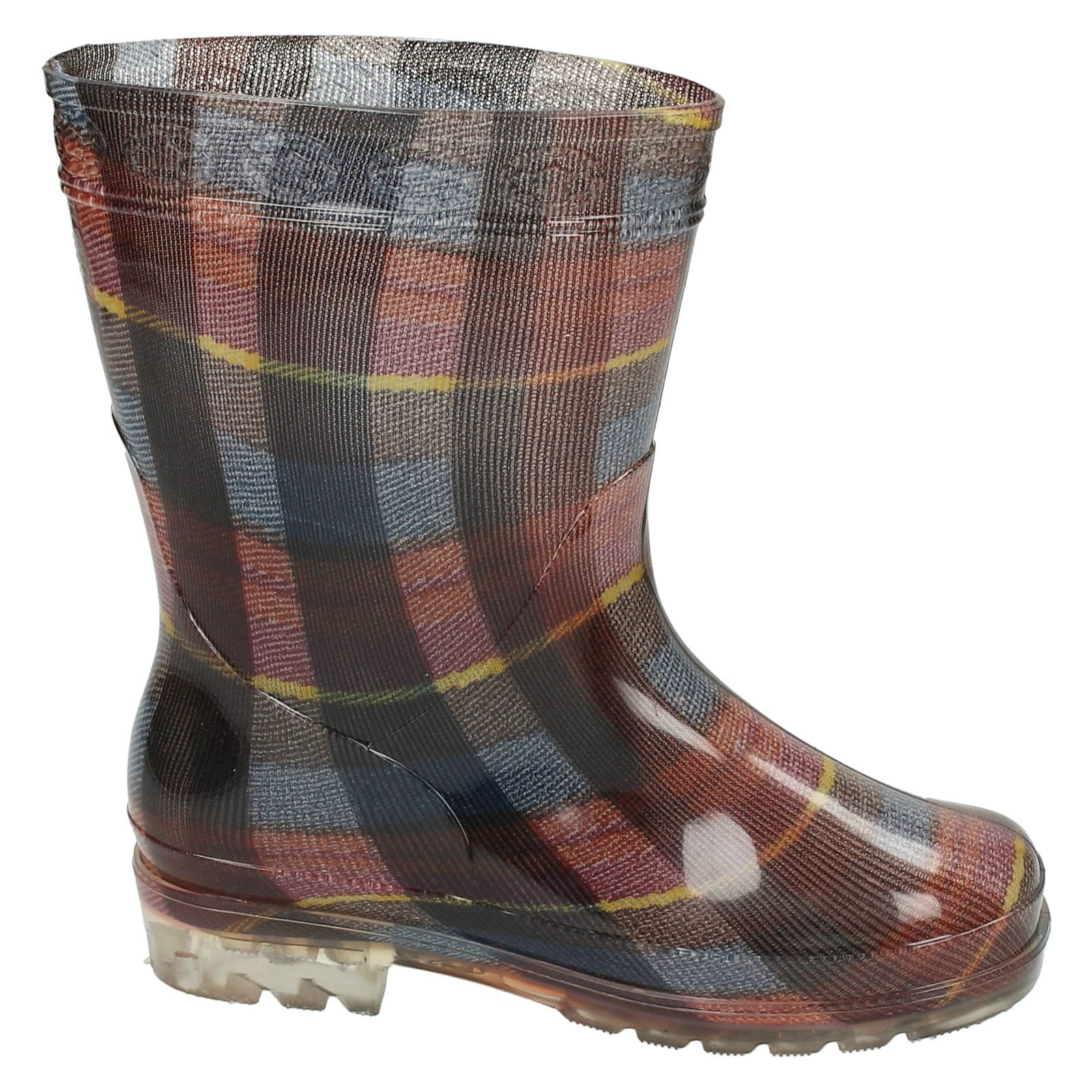 Childrens Spot On Wellington Boots