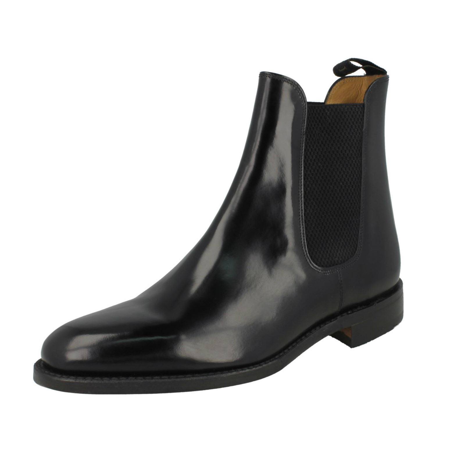 Mens Loake Formal Slip Boots On Chelsea Boots Slip 290B e7a220