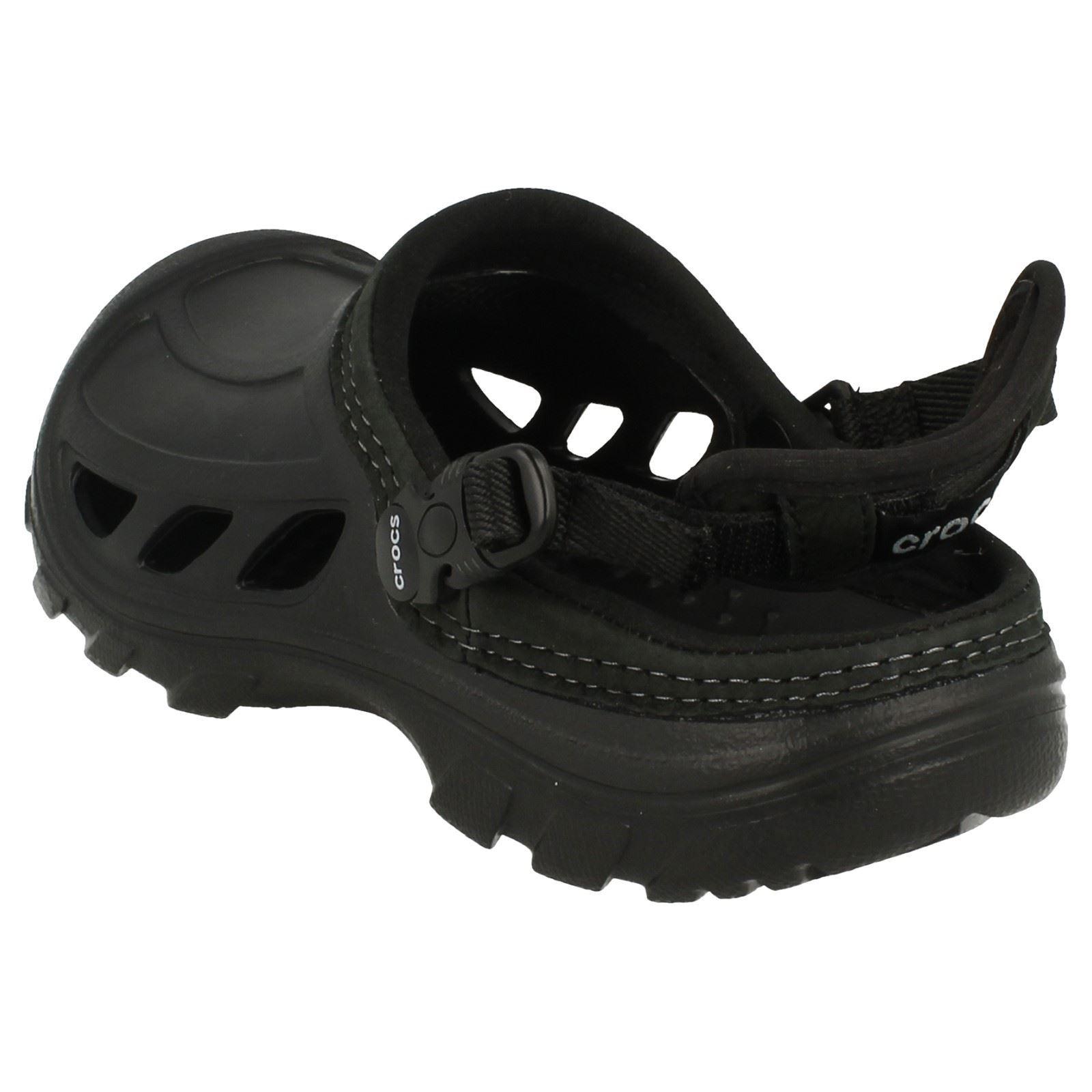 Crostrail Zuecos Hombres Negro On Crocs Hombres Slip qwxFUCg