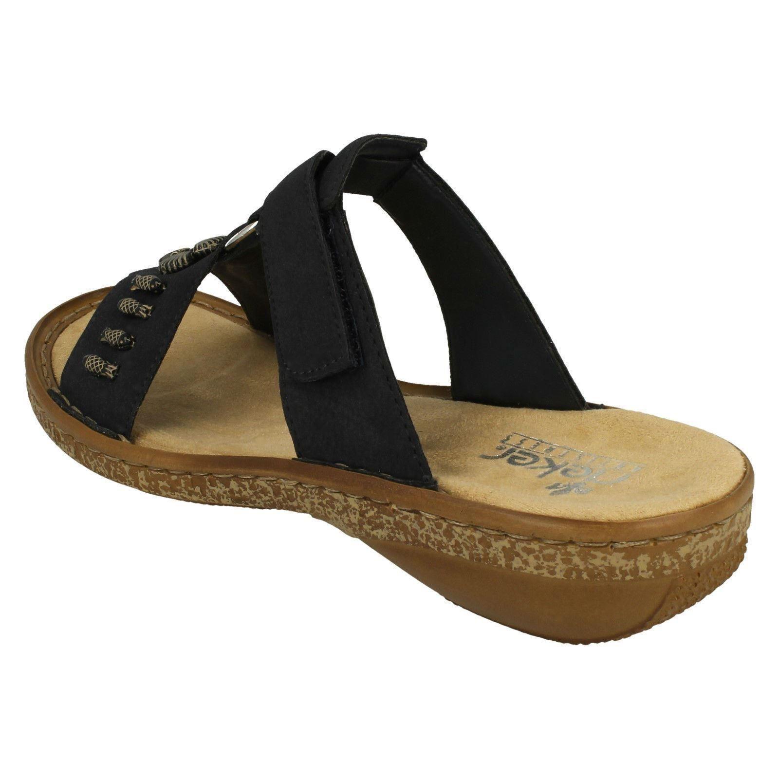 damen damen damen Rieker Open Toe Sandals - 62891  | Qualifizierte Herstellung  44f2e3