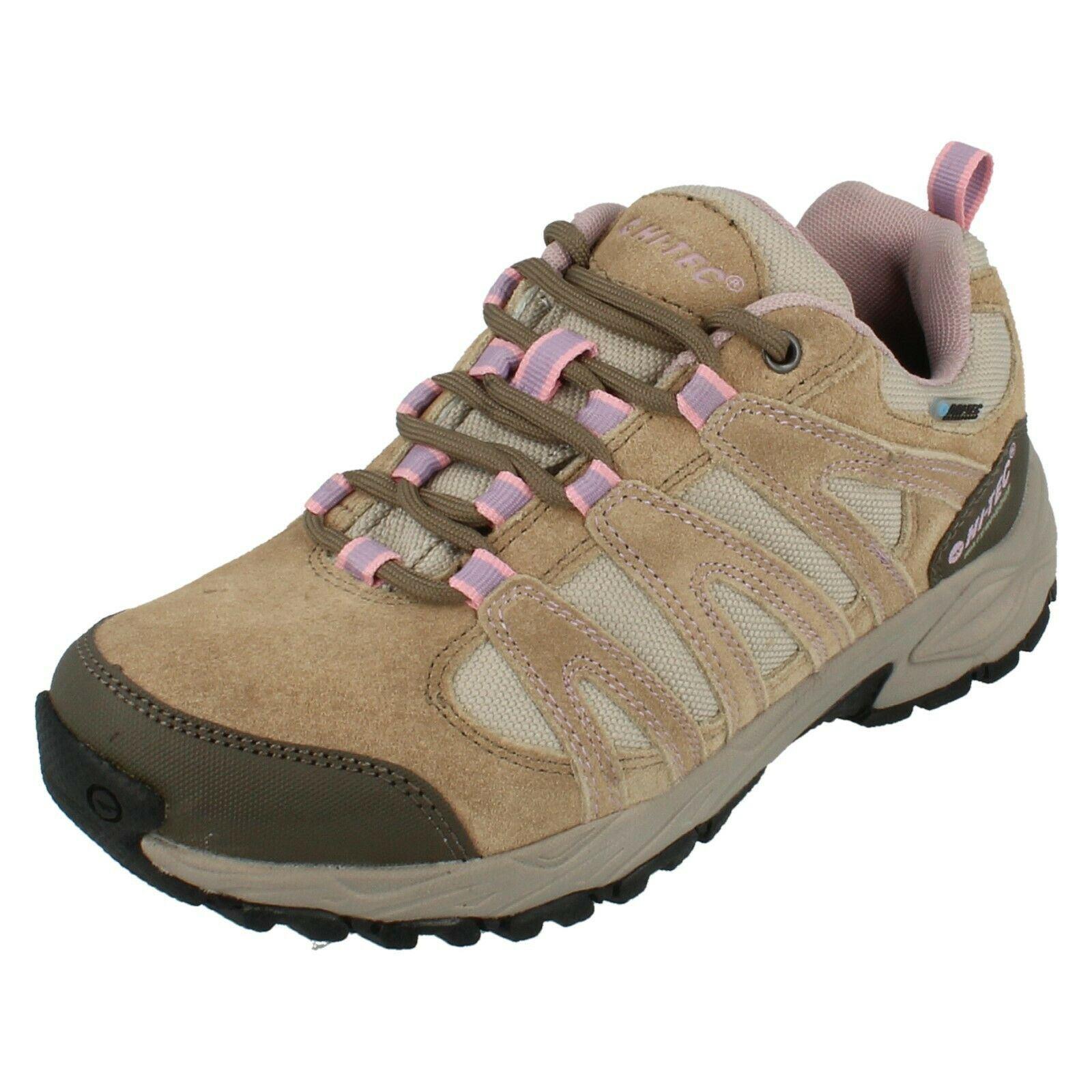 Detalles de Mujer Hi Tec Impermeable Zapatillas Casual Alto II bajo Wp Mujer