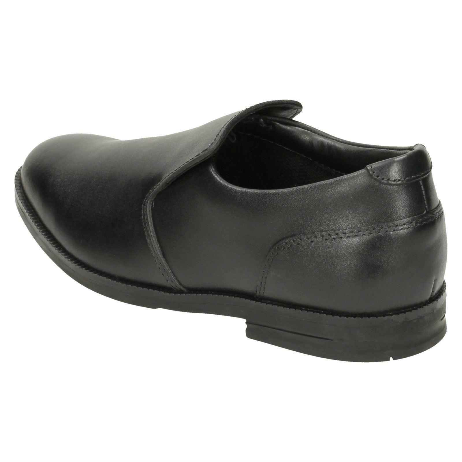 Shoes Bootleg Boys By Rufus School Clarks Black Way 6IrIqa