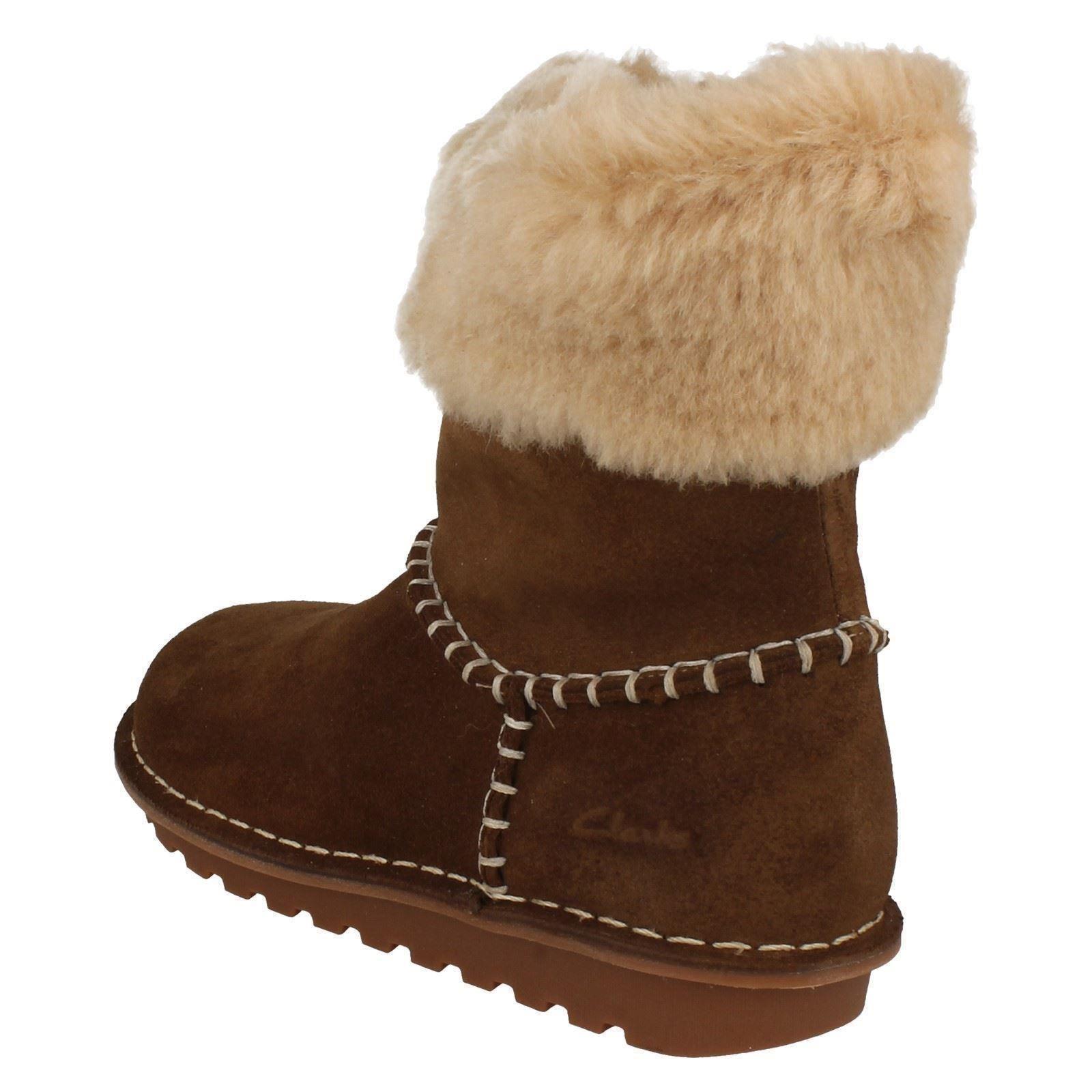 invierno para de Botines Walnut Ace niñas Greeta Clarks marrón BO5qtqxAwW
