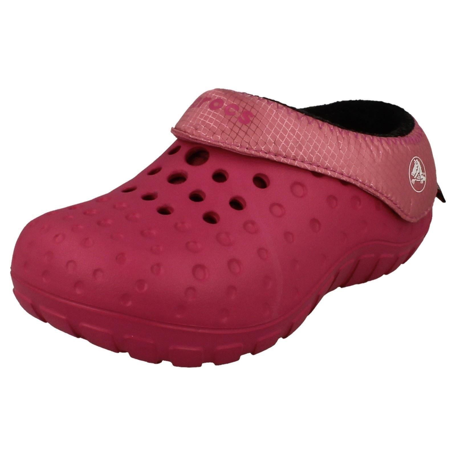 2c1aa028a57b63 Childs Crocs Insulated Casual Clogs  tembo Polartec  The Style K ...