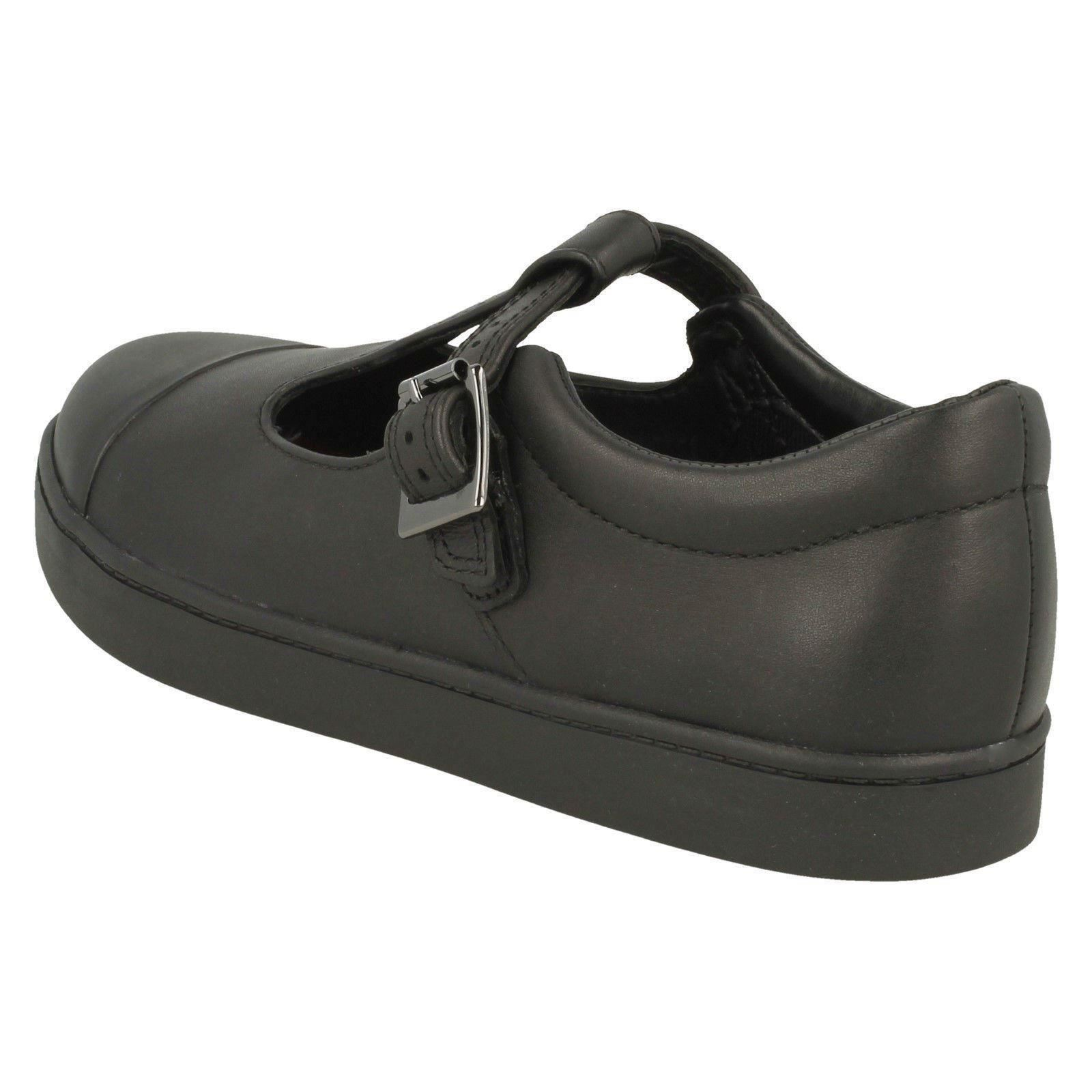 Black City Girls Tea Scarpe Clarks da bar scuola T WxnaqTURw6