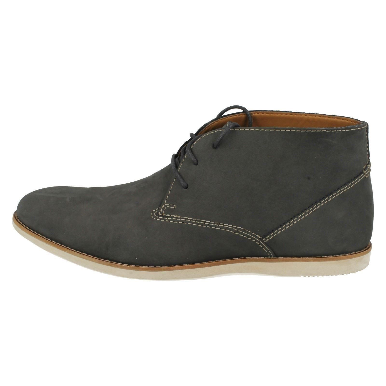 Details about Mens Clarks Lace Up Ankle Boots Franson Top