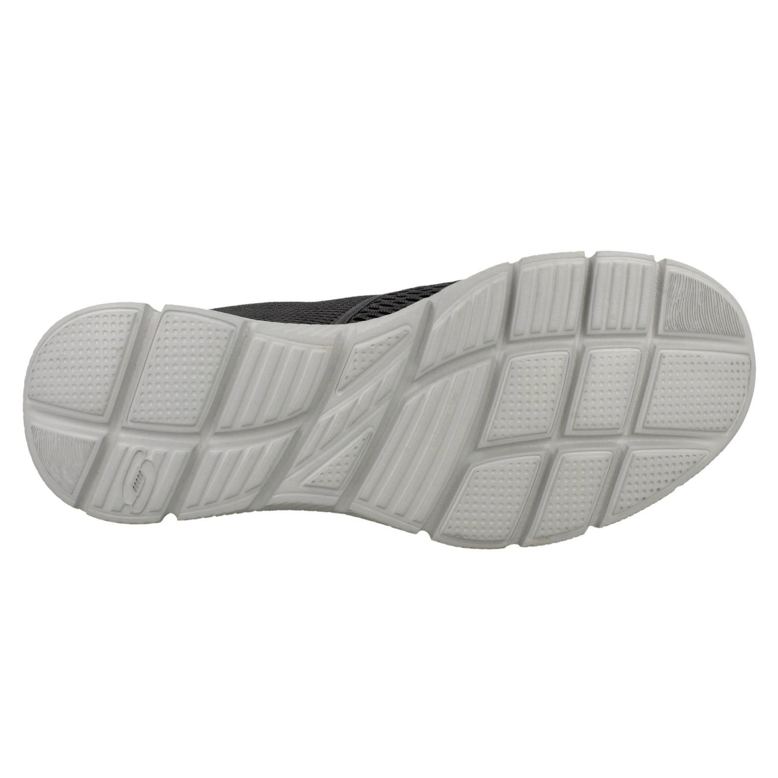 Homme Skechers Chaussures Memory Foam Enfiler Chaussures Skechers De Marche Double Play 15db1d