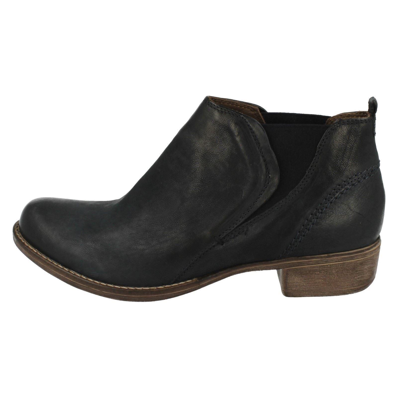 Chelsea blue Colindale Navy Clarks Boots Oak Ladies qHYSnPx