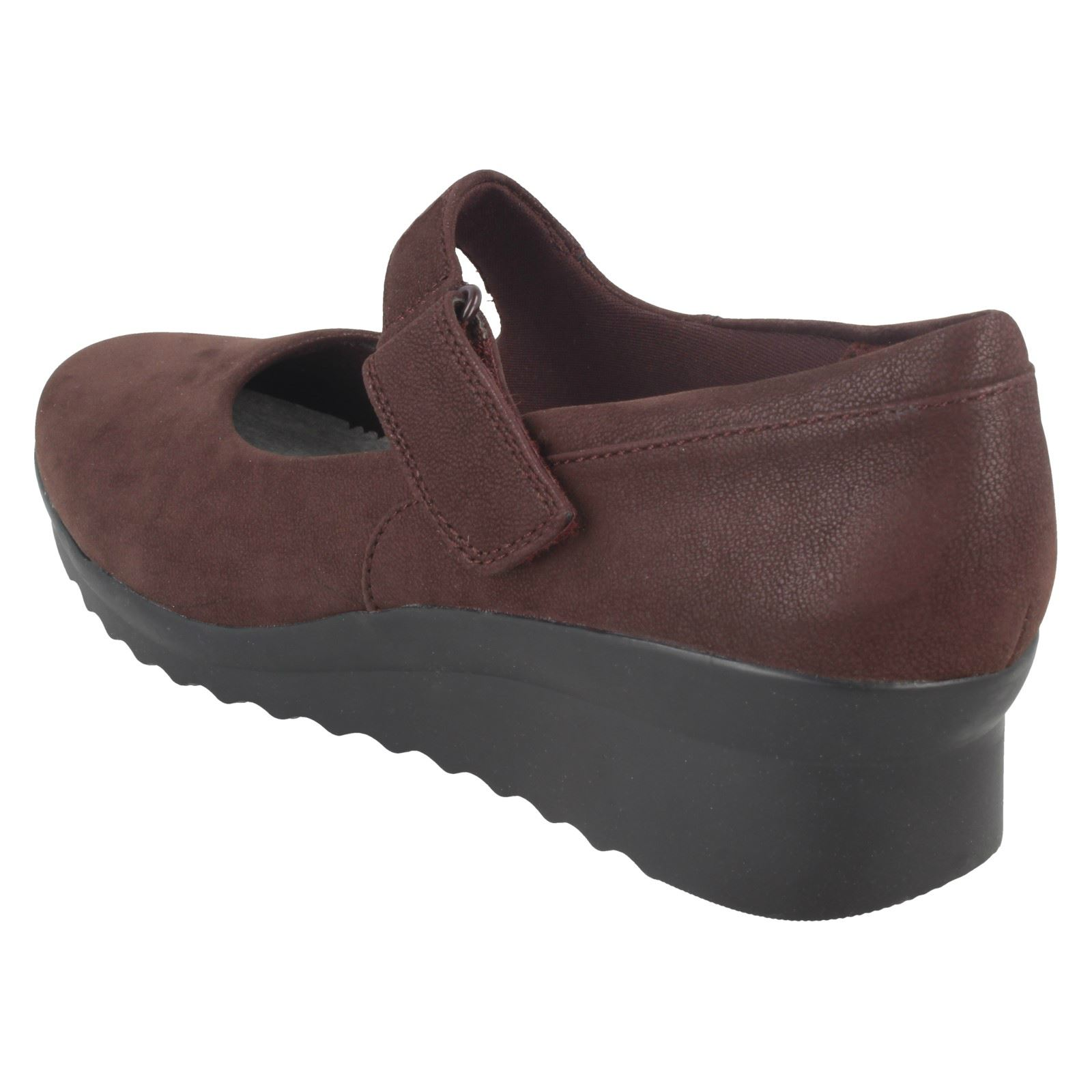 Señoras cloudsteppers Por Clarks Zapatos de cuña-Caddell Yale