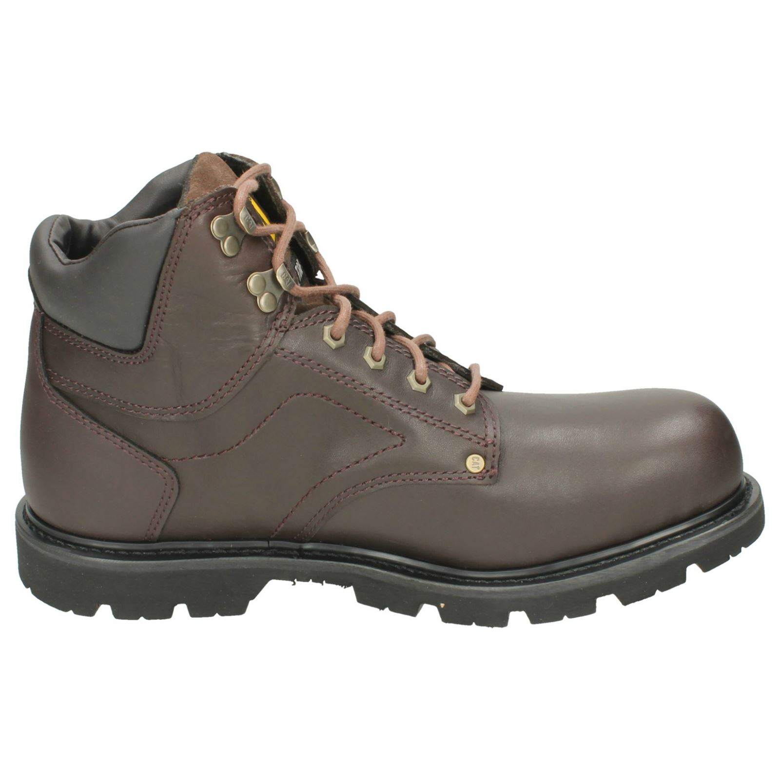 Mens Caterpillar Steel Toe Cap Ankle Boots Grouser ST